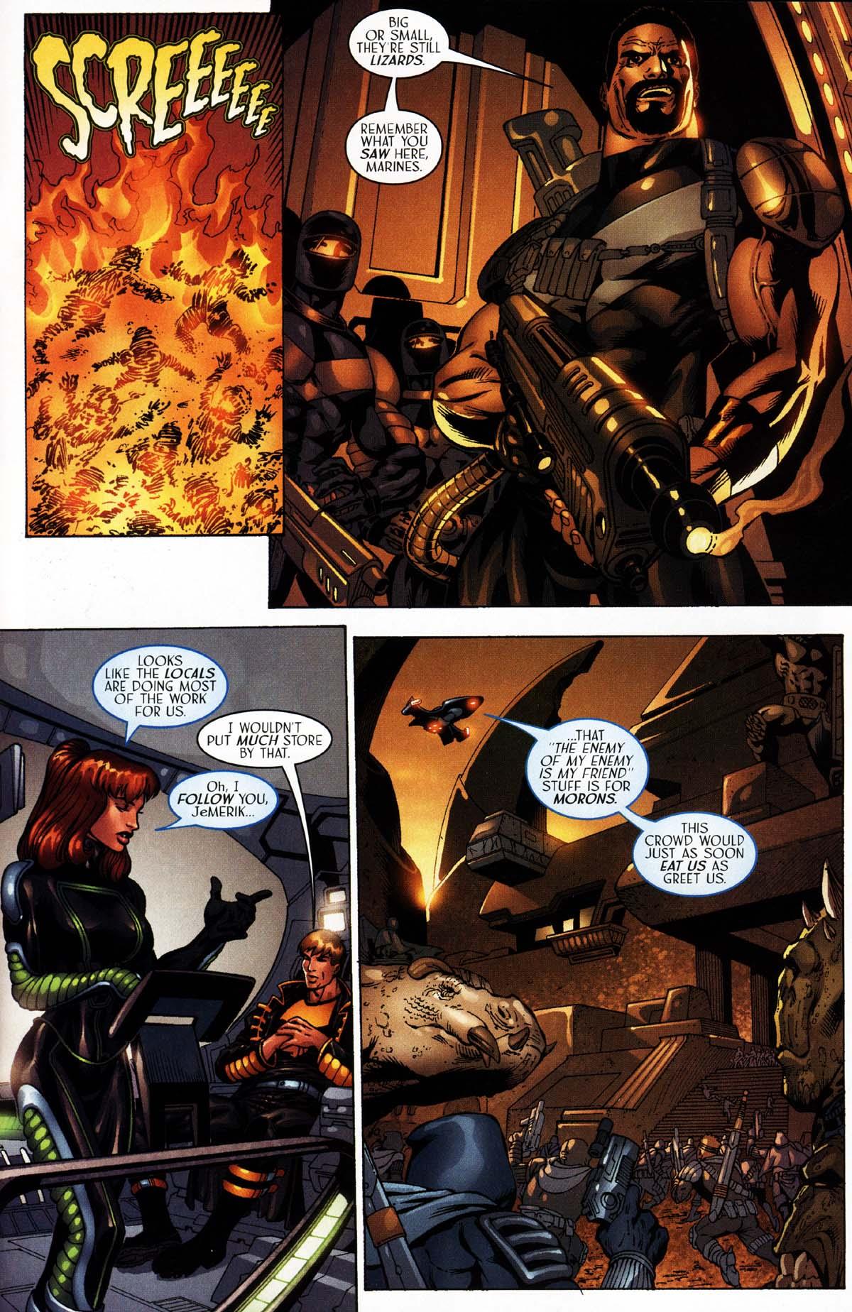 Read online Sigil (2000) comic -  Issue #27 - 15