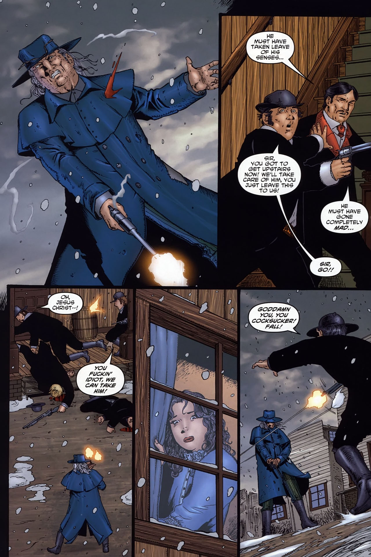 Read online Garth Ennis' Streets of Glory comic -  Issue #6 - 20
