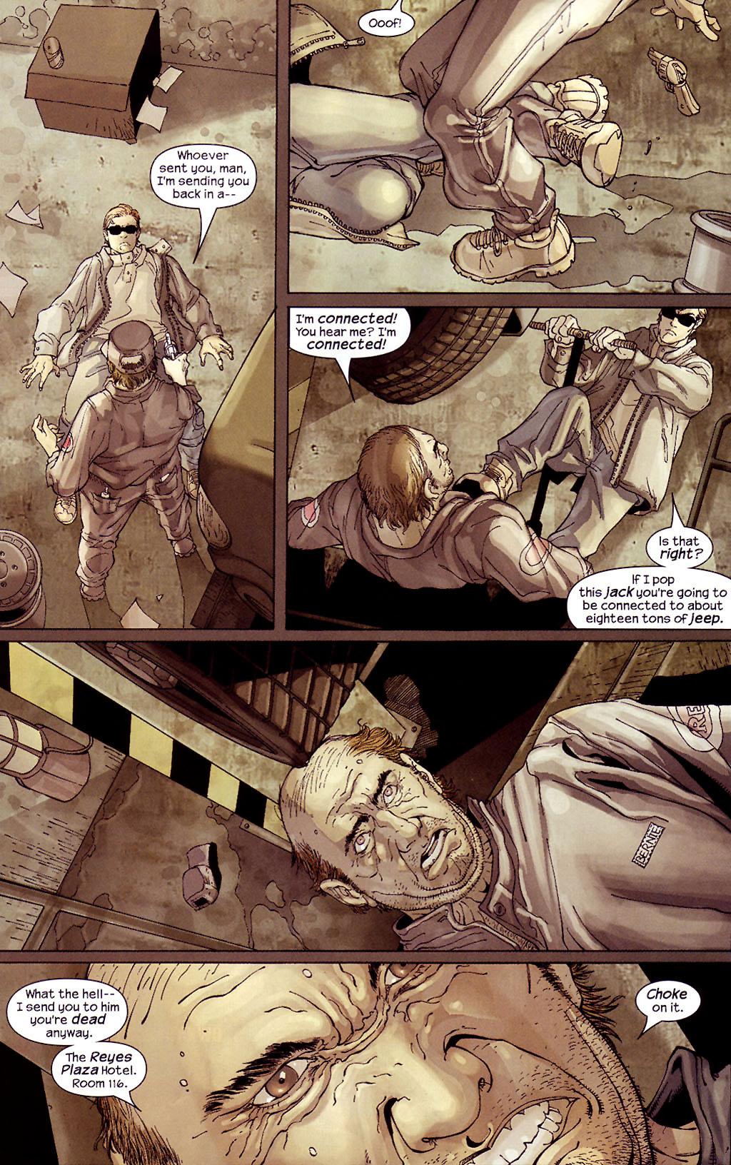 Read online Ultimate Elektra comic -  Issue #4 - 12