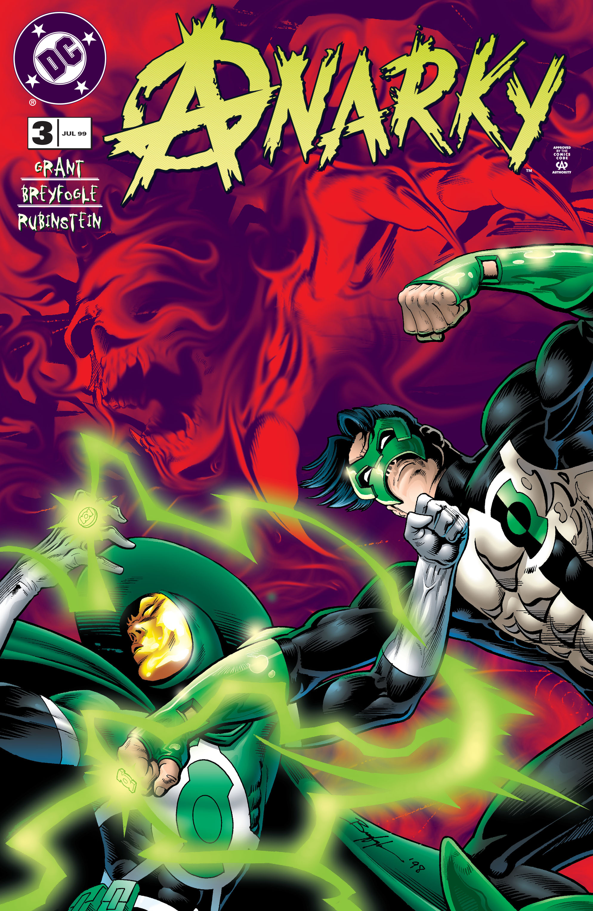 Read online Anarky (1999) comic -  Issue #3 - 1