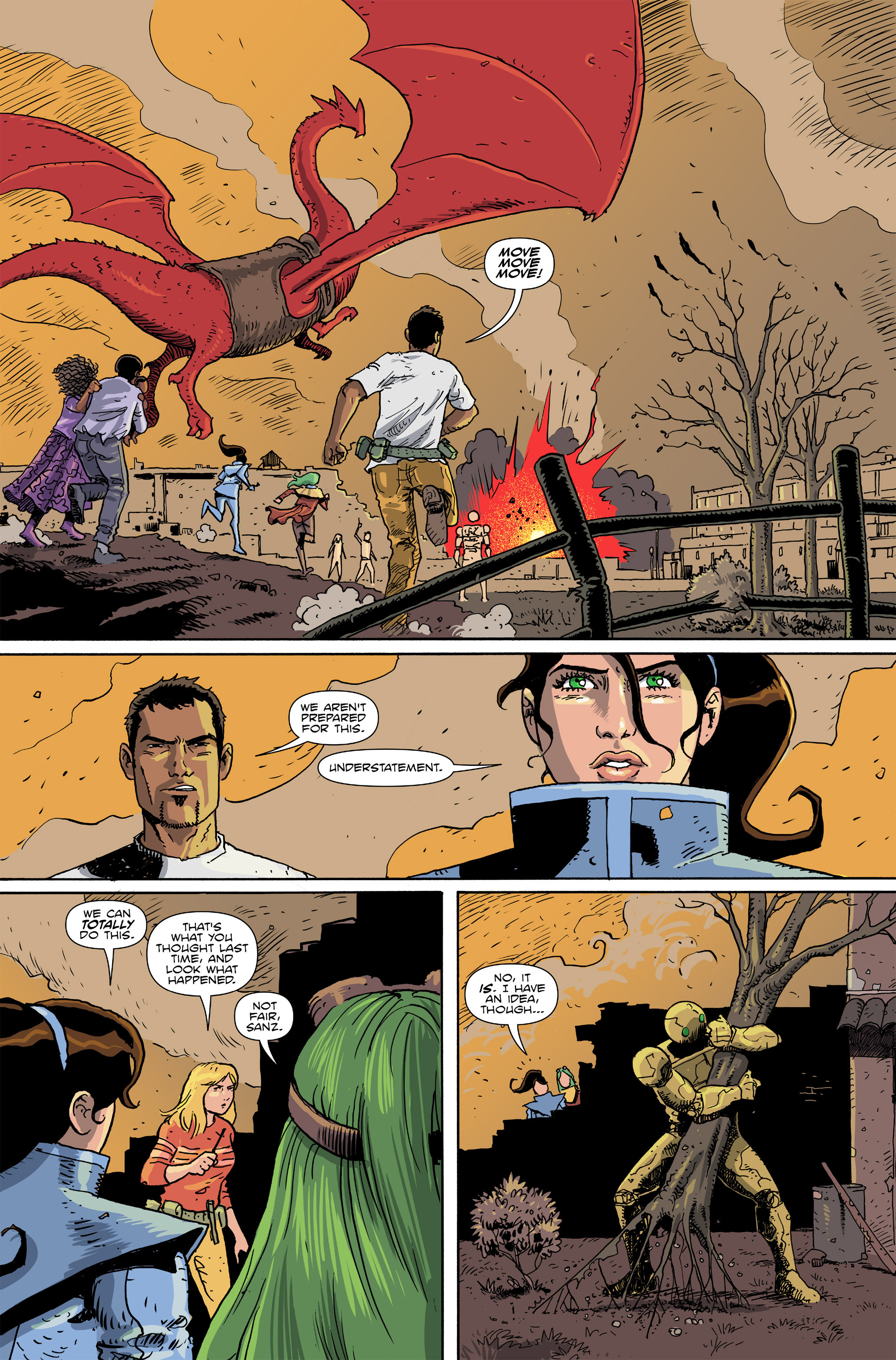 Read online Amelia Cole Versus The End of Everything comic -  Issue #26 - 3