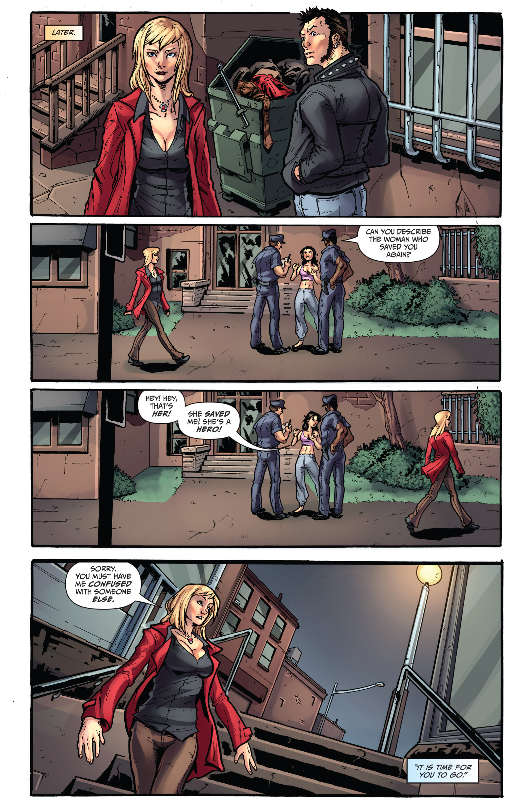 Read online Grimm Fairy Tales presents Grimm Universe comic -  Issue # TPB - 95
