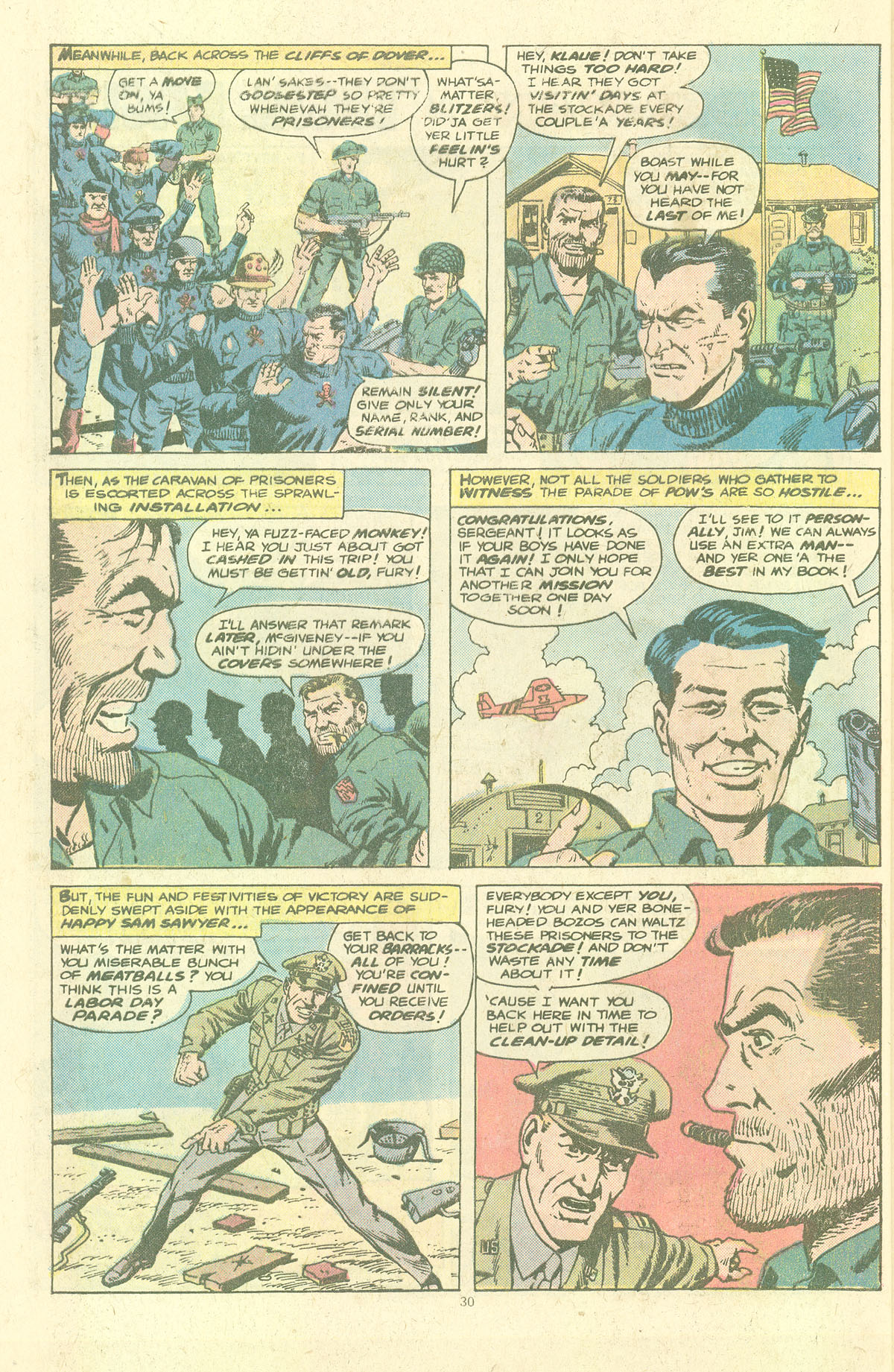 Read online Sgt. Fury comic -  Issue #143 - 32