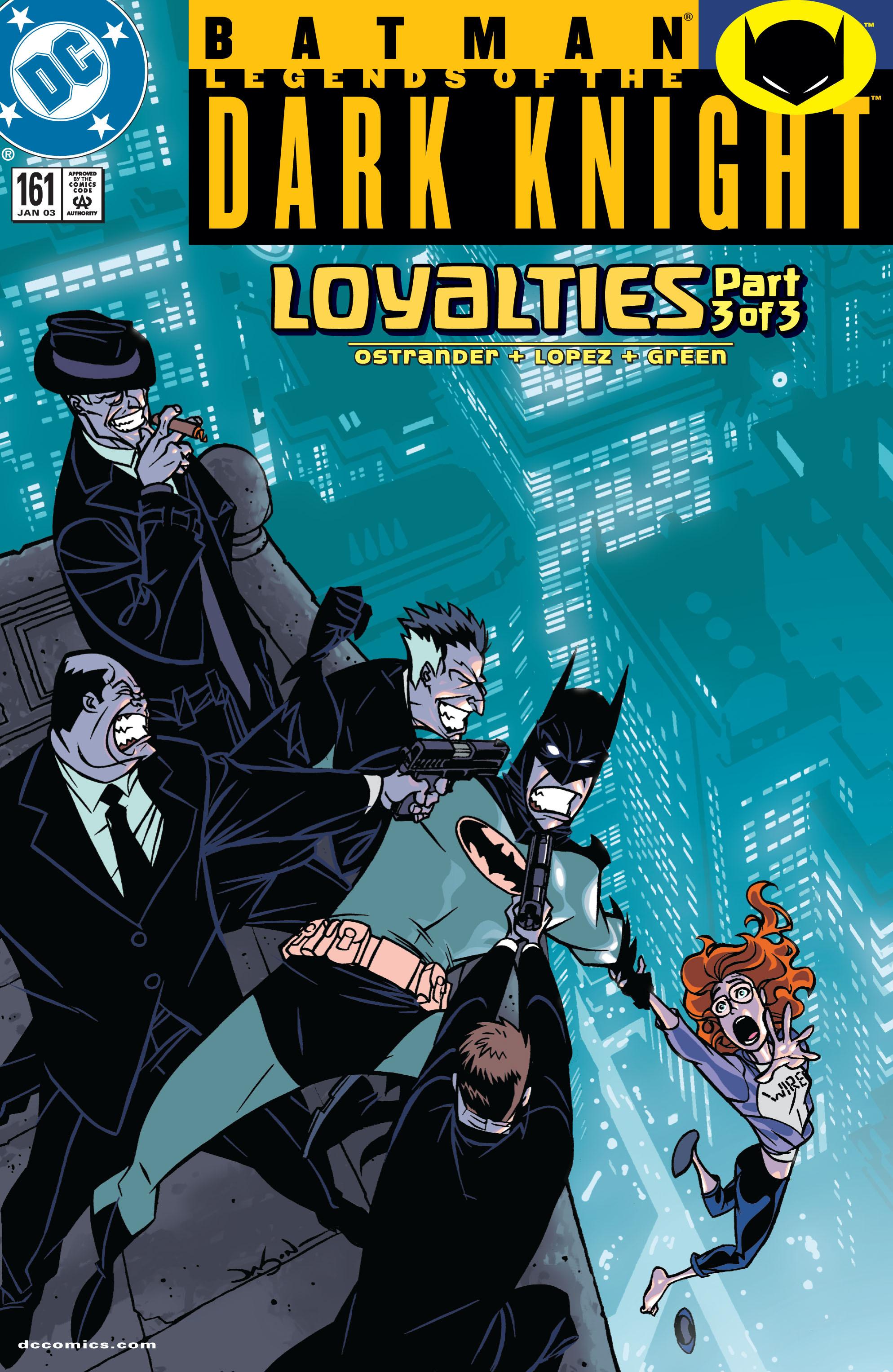 Batman: Legends of the Dark Knight 161 Page 1