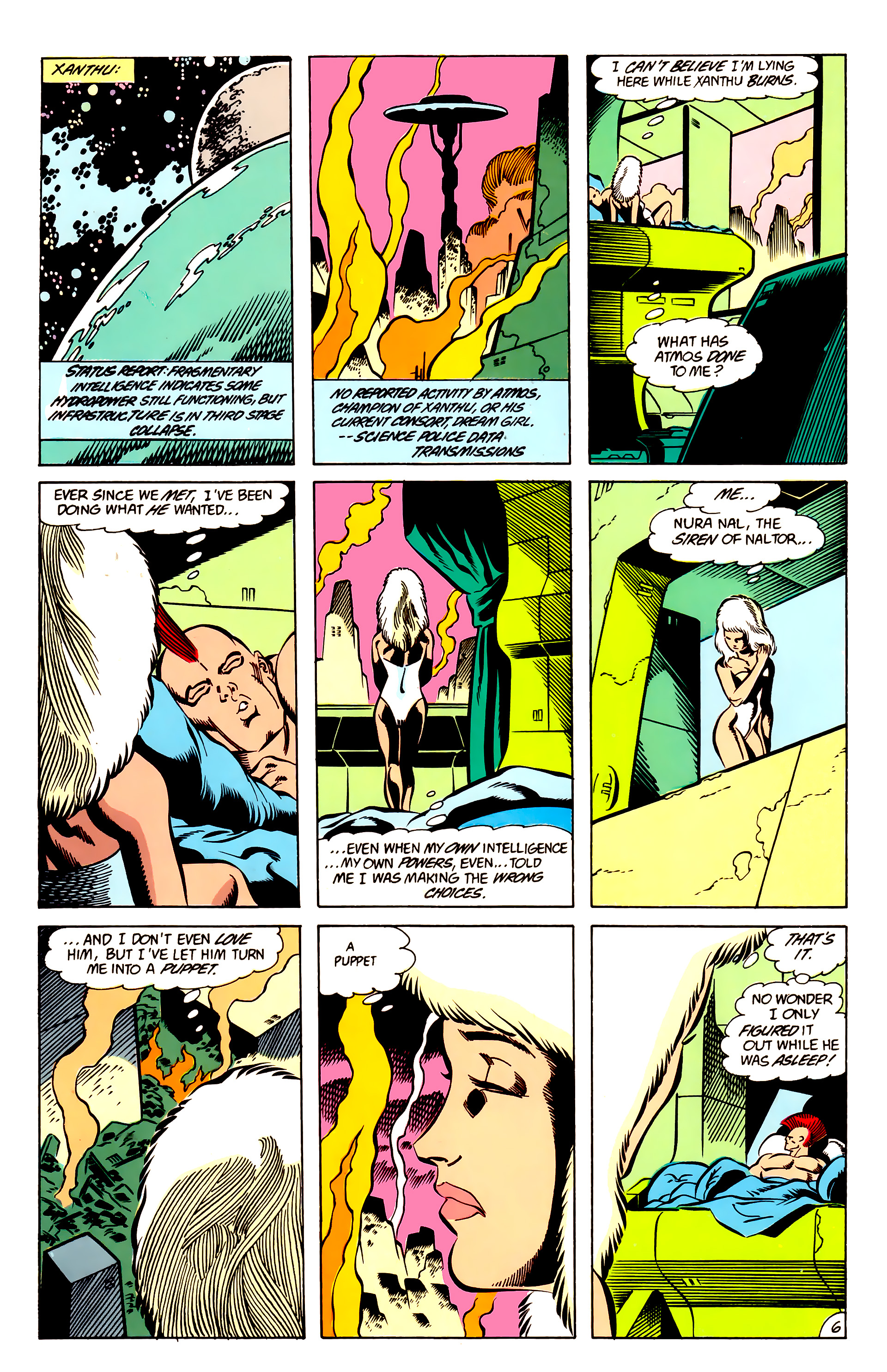 Legion of Super-Heroes (1984) 63 Page 6