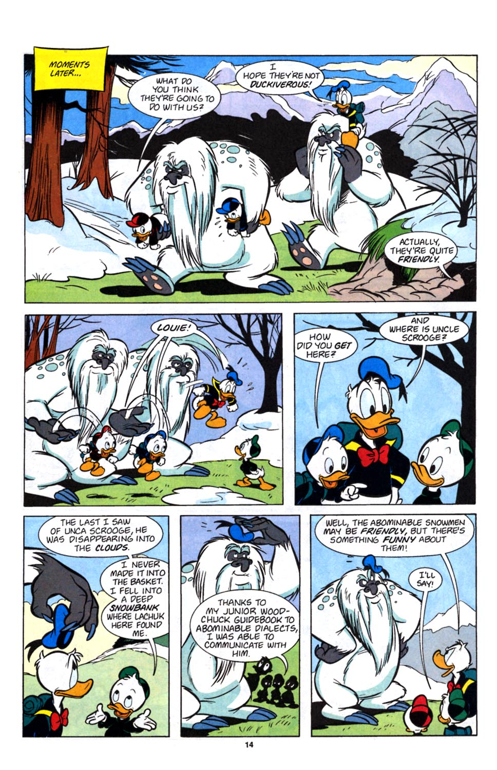 Read online Uncle Scrooge (1953) comic -  Issue #257 - 16