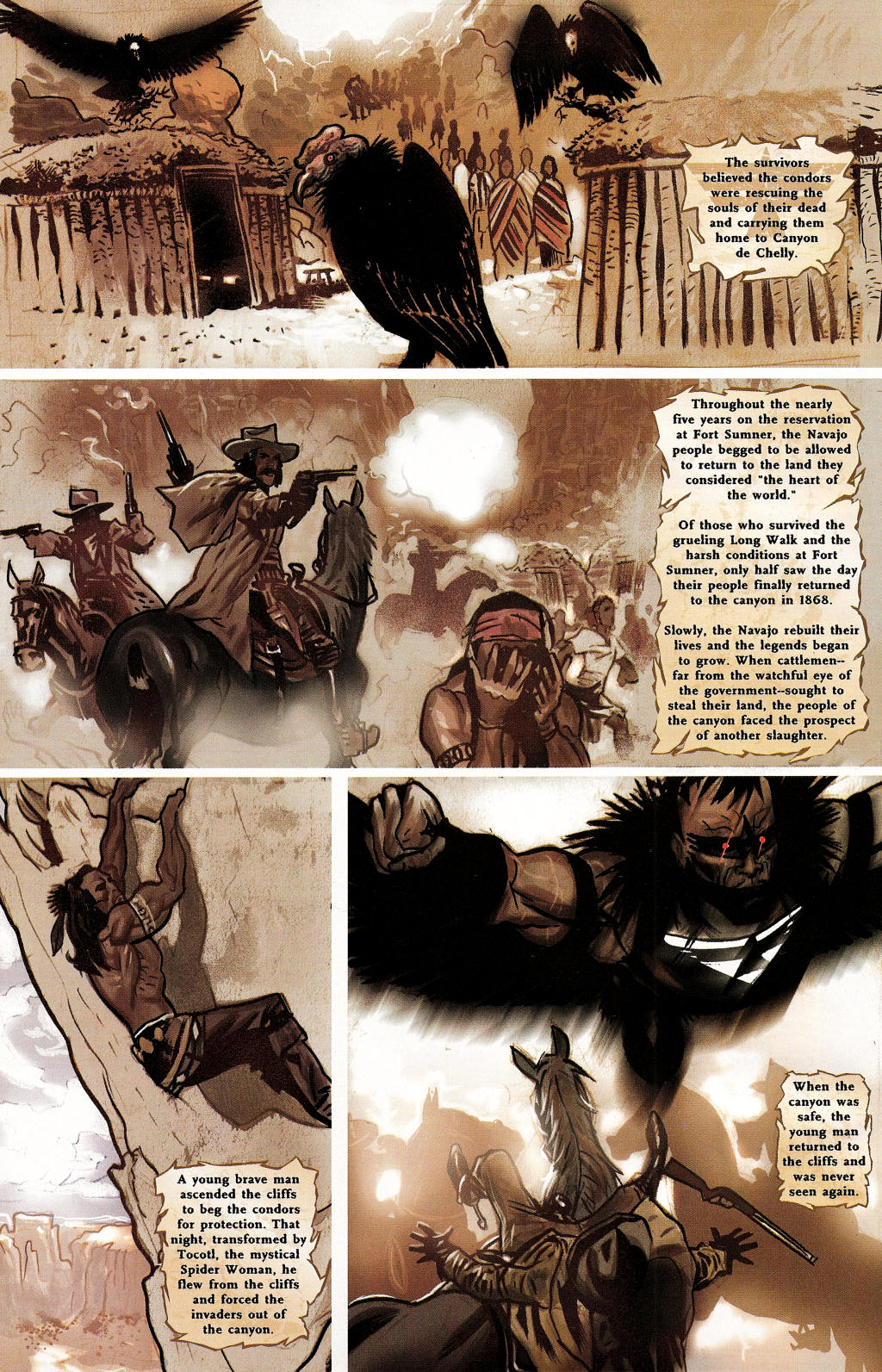 Read online Uncle Sam and the Freedom Fighters (2006) comic -  Issue #3 - 5