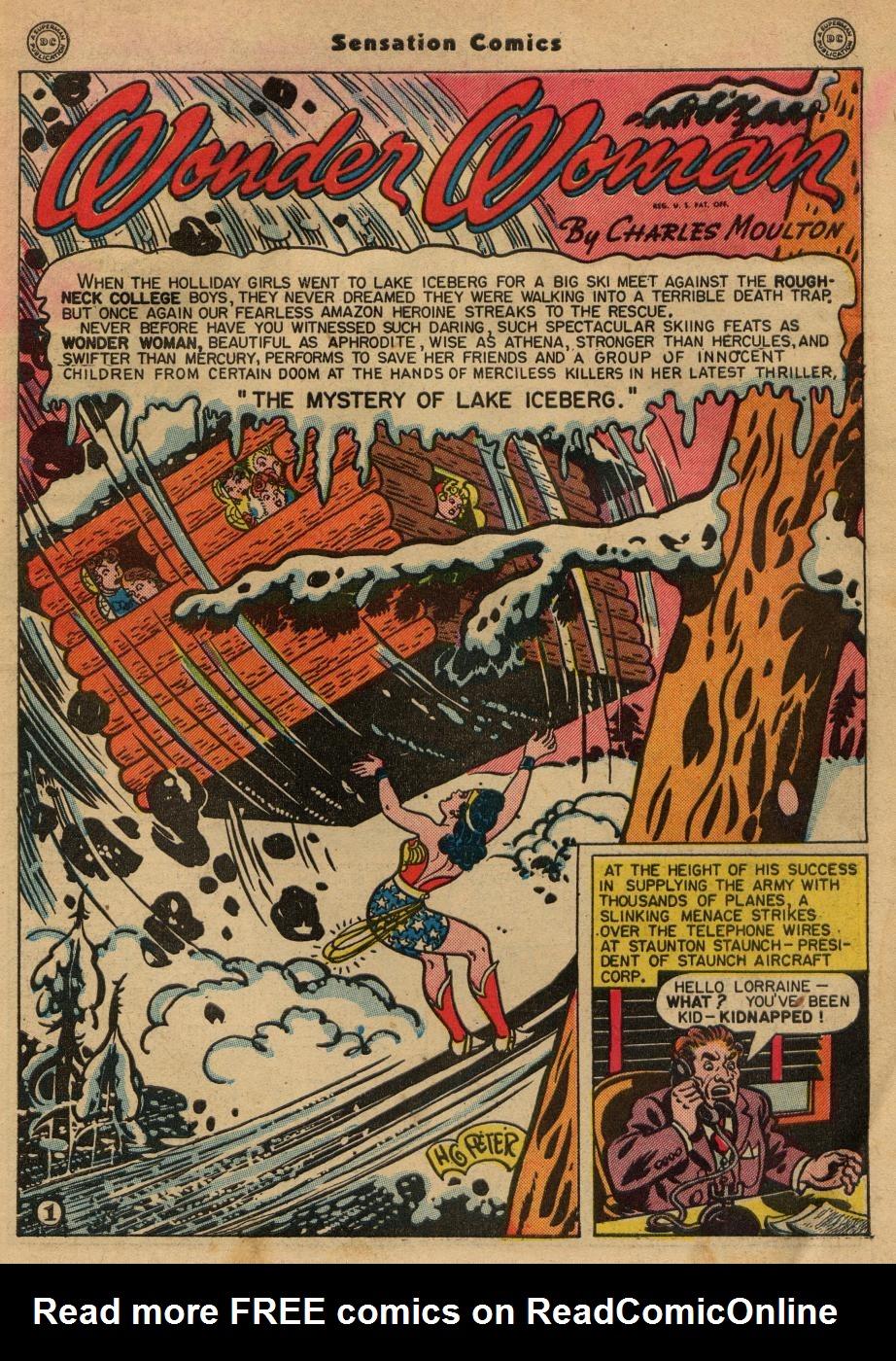 Read online Sensation (Mystery) Comics comic -  Issue #49 - 3
