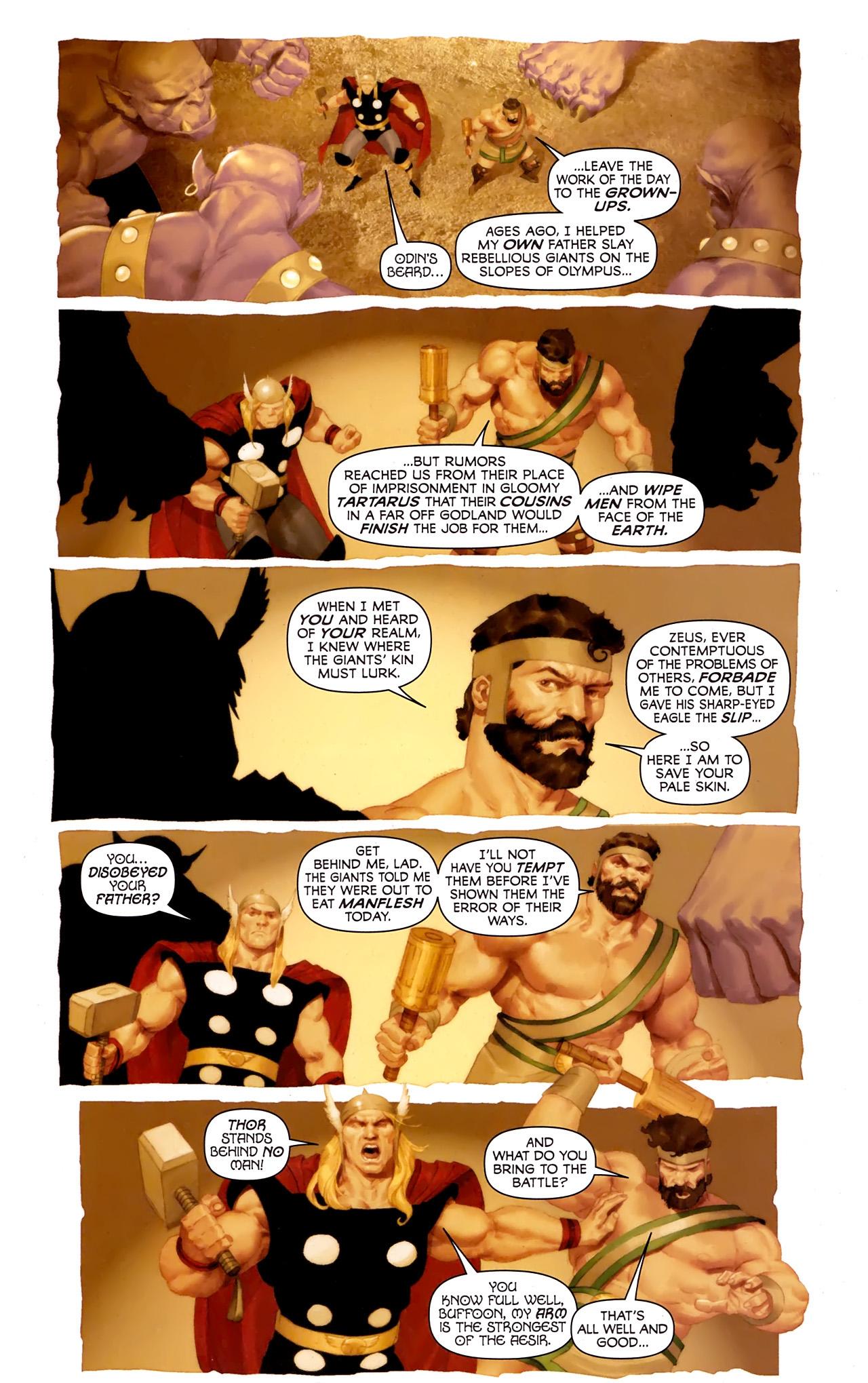 Read online Hercules: Fall of an Avenger comic -  Issue #1 - 10
