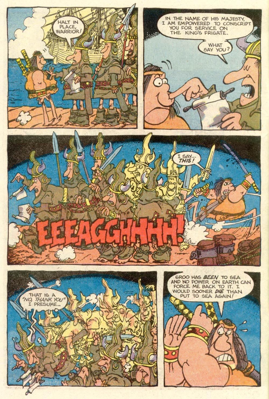 Read online Sergio Aragonés Groo the Wanderer comic -  Issue #5 - 4