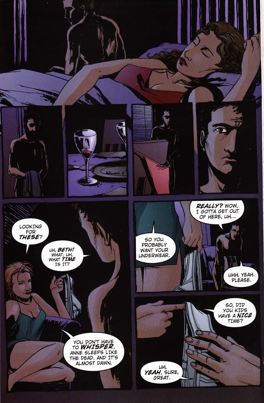 Read online Vampire the Masquerade comic -  Issue # Ventrue - 12