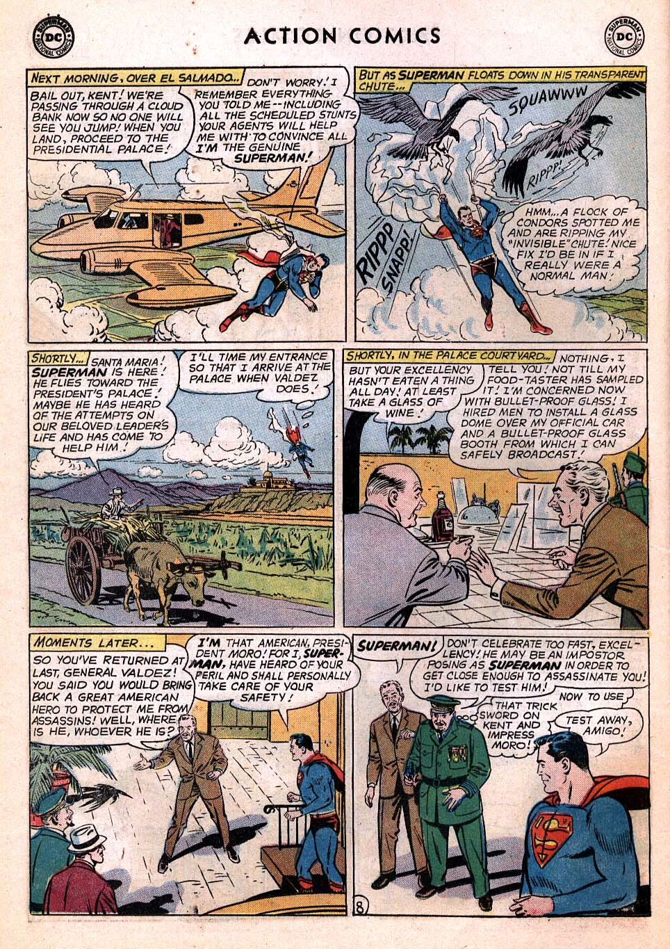 Read online Action Comics (1938) comic -  Issue #306 - 9