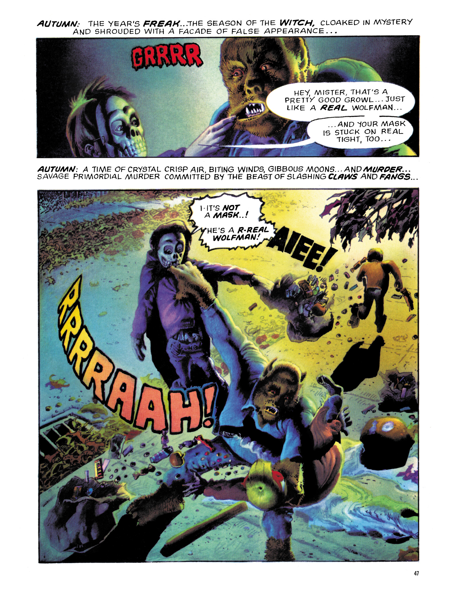 Read online Eerie Archives comic -  Issue # TPB 18 - 48