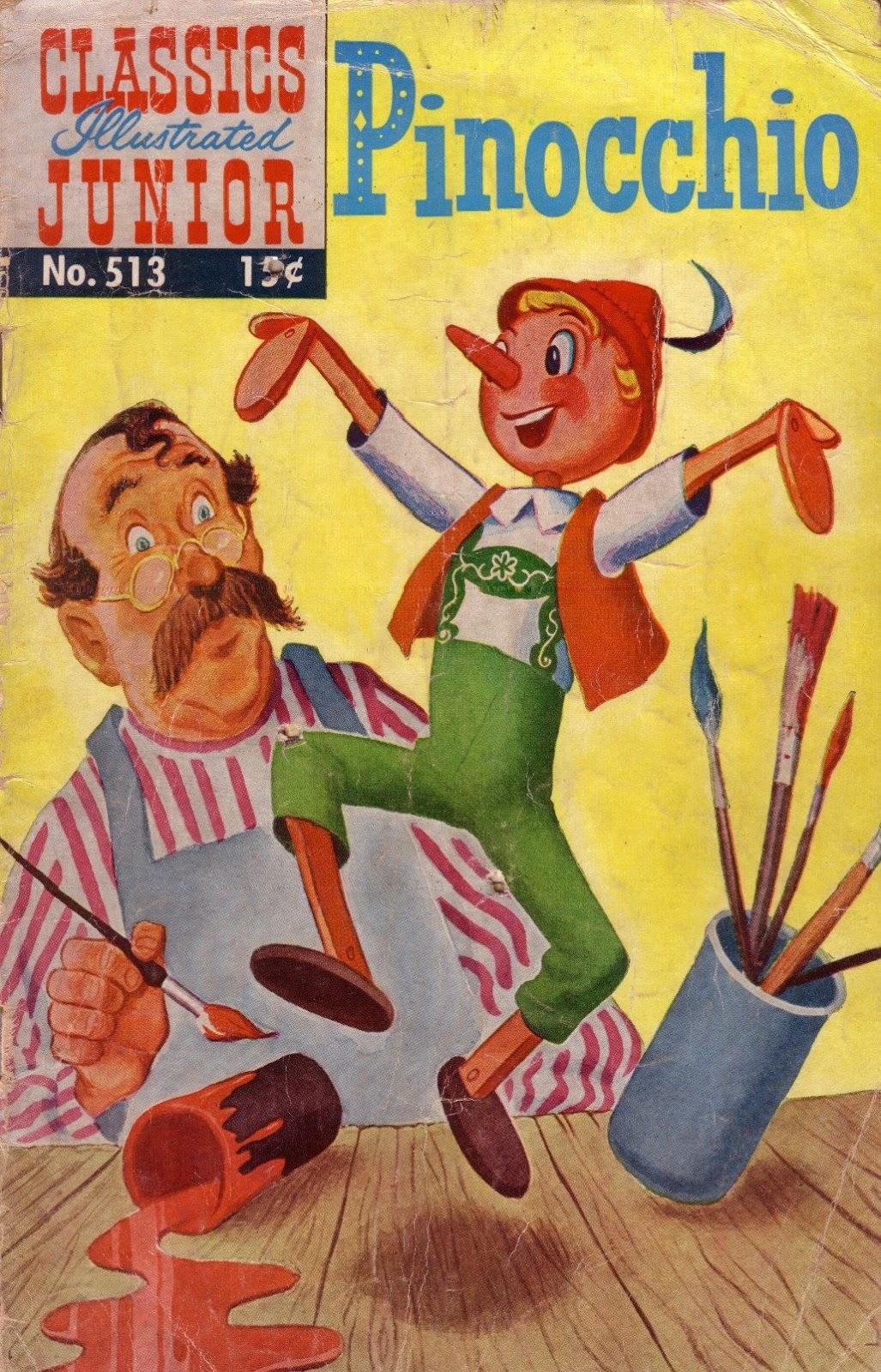 Classics Illustrated Junior 513 Page 1