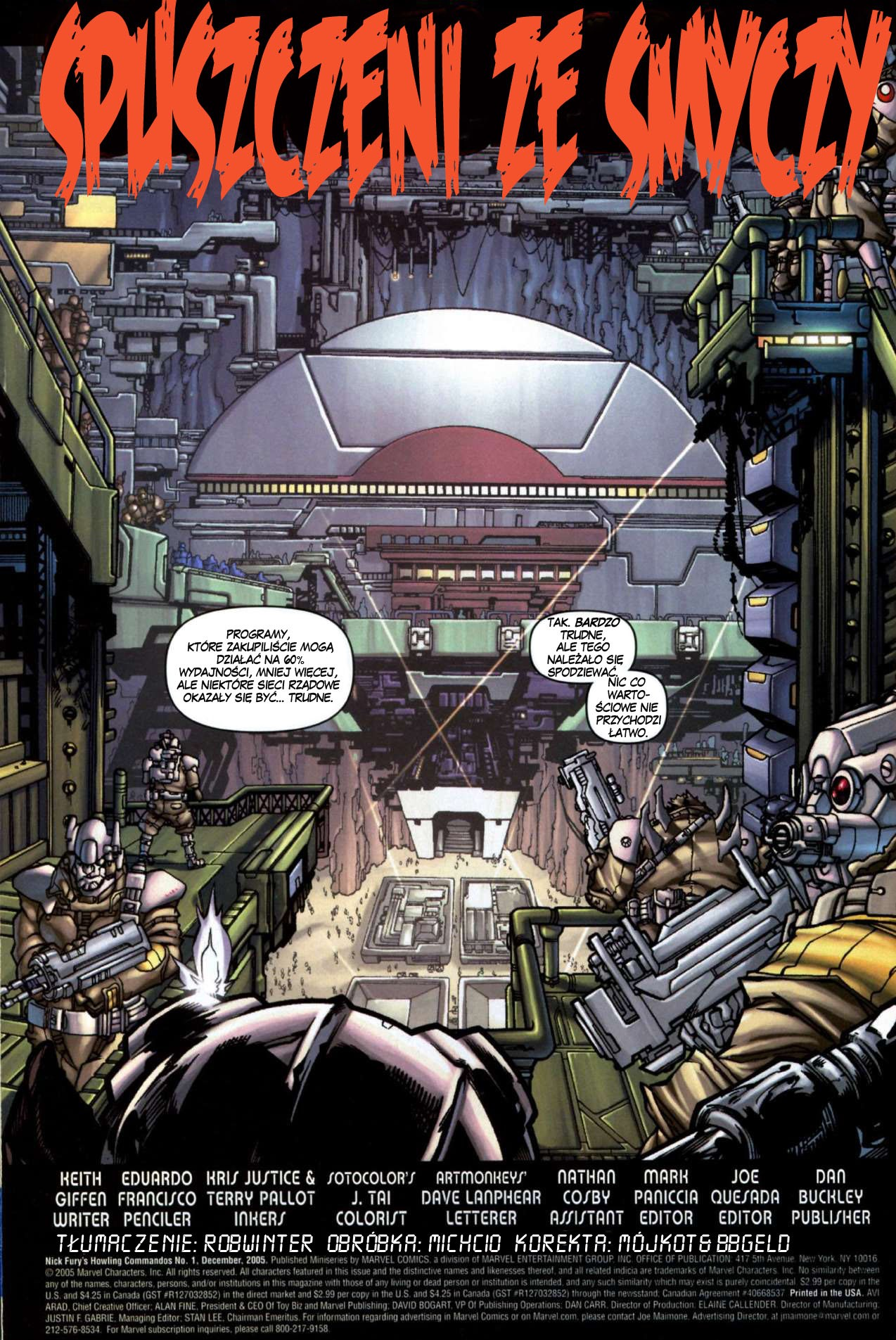 Read online Nick Fury's Howling Commandos comic -  Issue #1 - 3