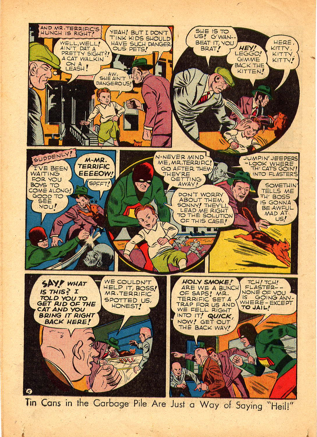 Read online Sensation (Mystery) Comics comic -  Issue #30 - 46