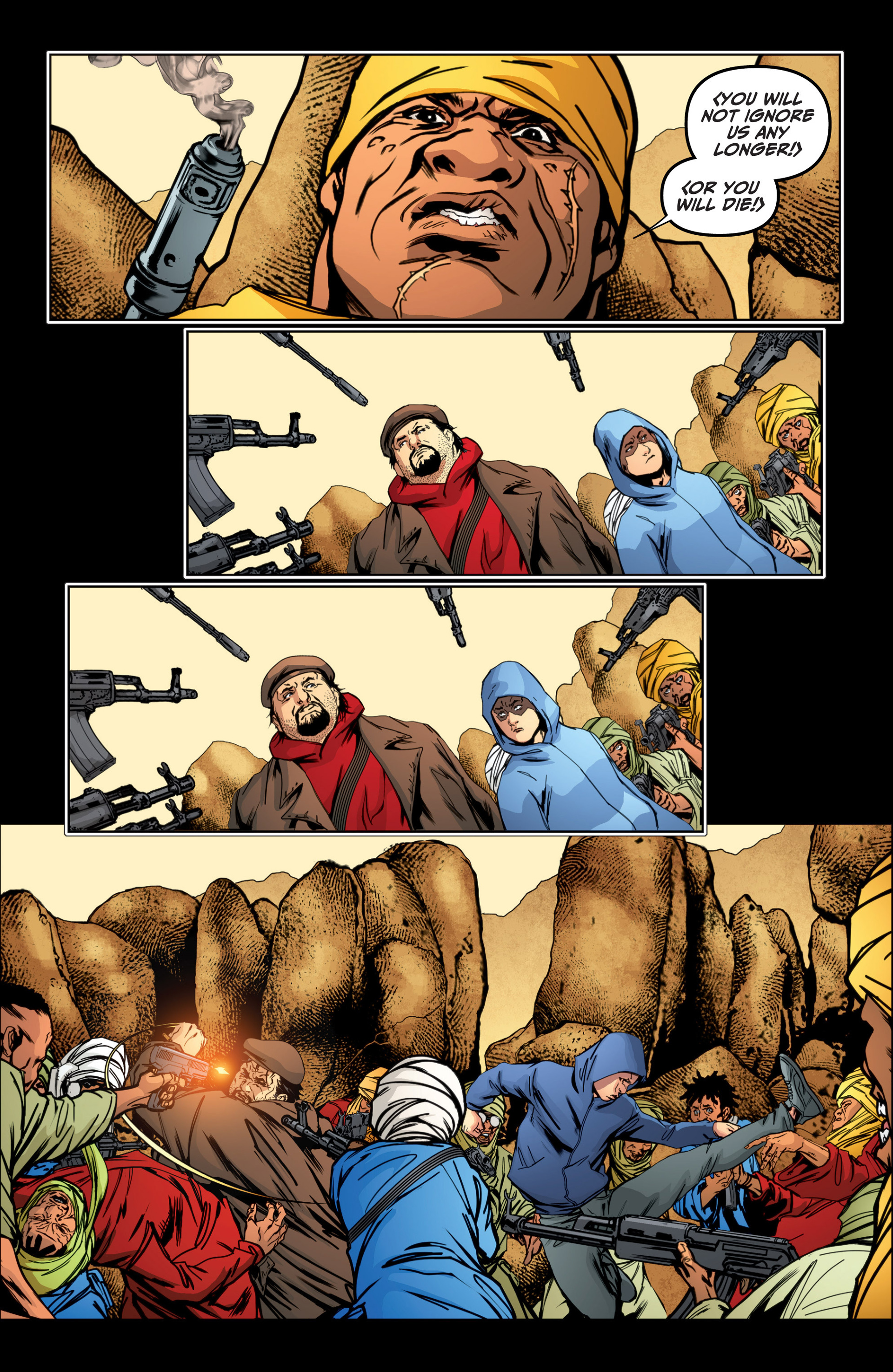 Read online Archer and Armstrong comic -  Issue #16 - 15