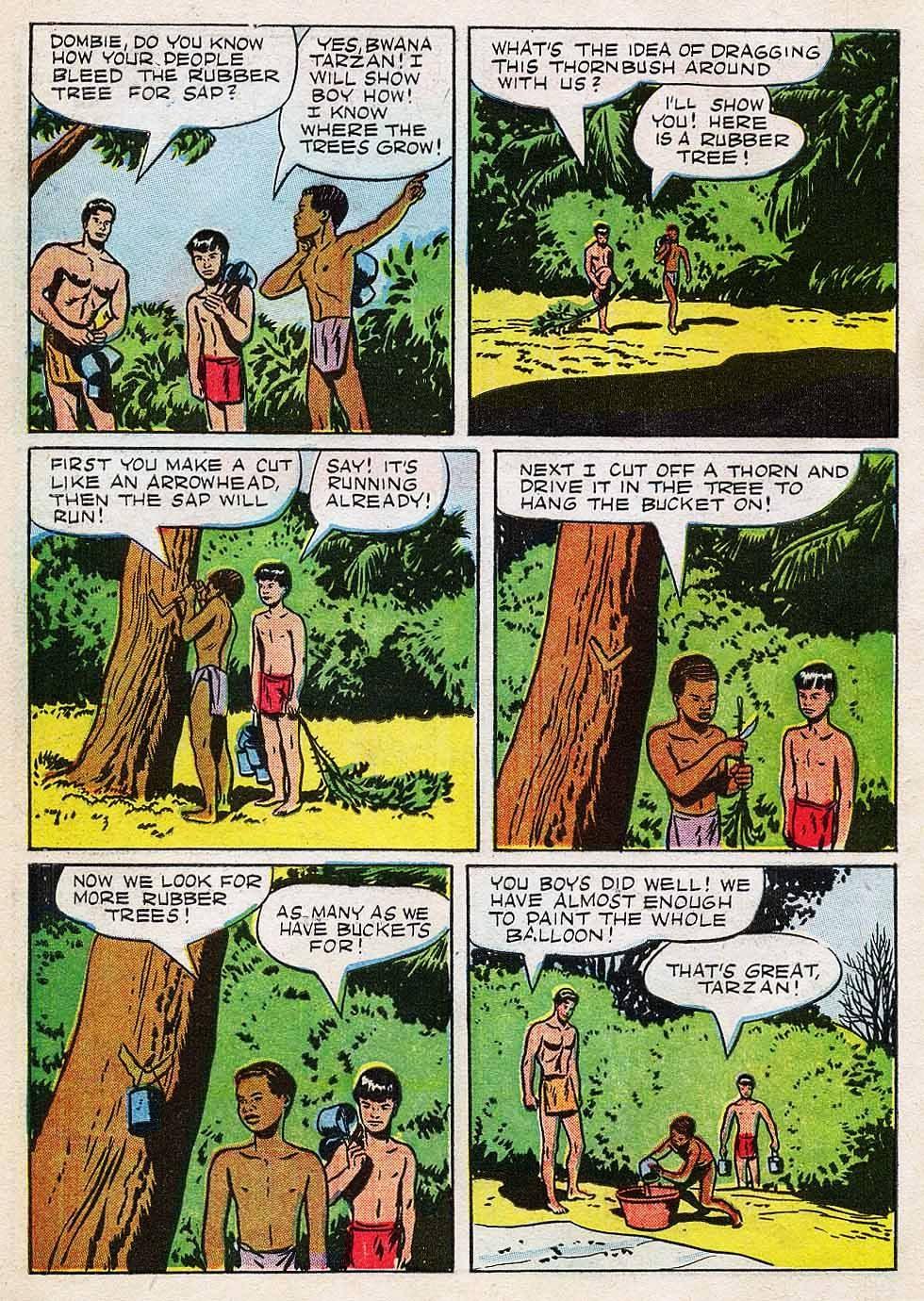 Tarzan (1948) issue 7 - Page 6