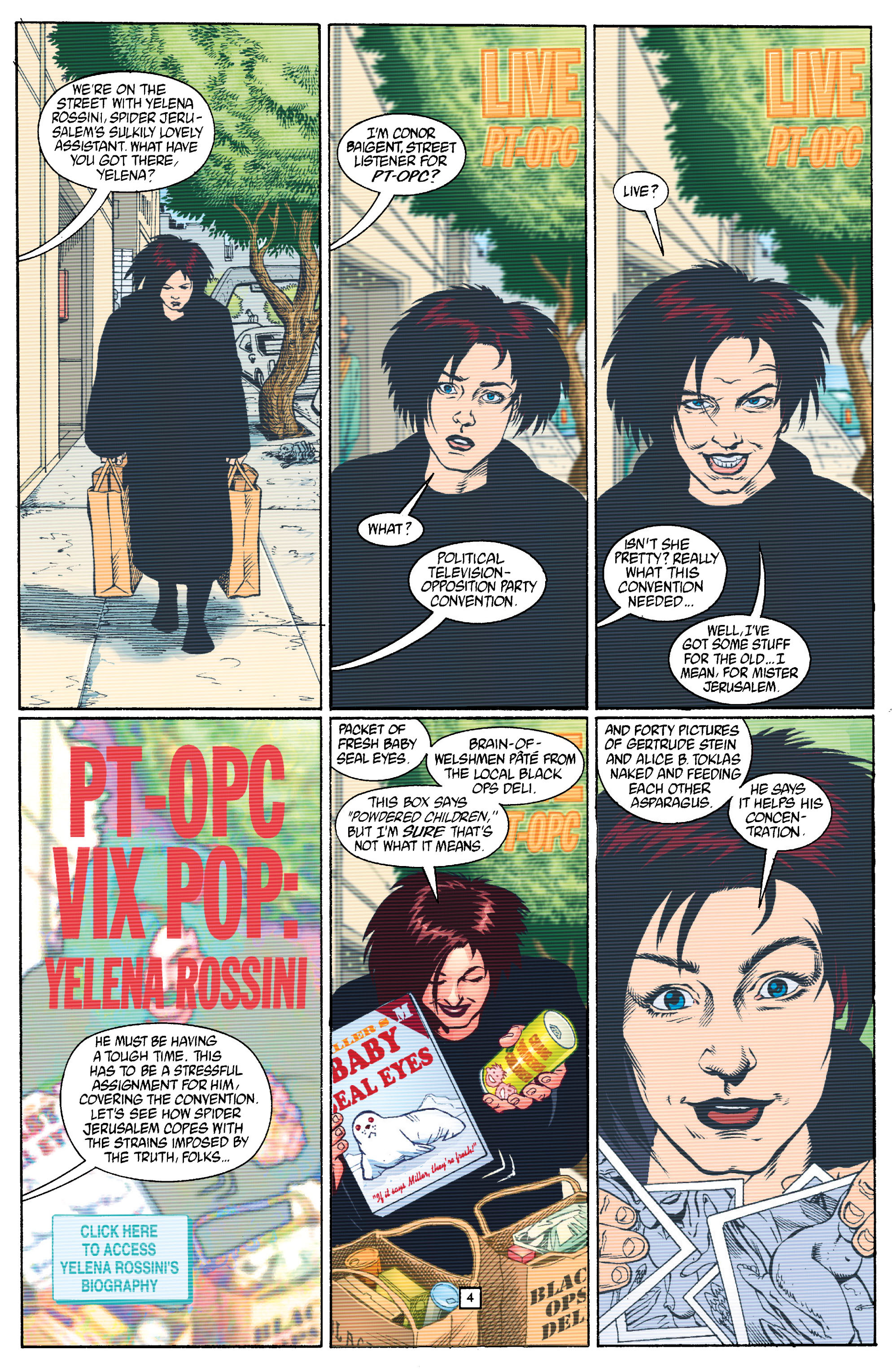 Read online Transmetropolitan comic -  Issue #15 - 5