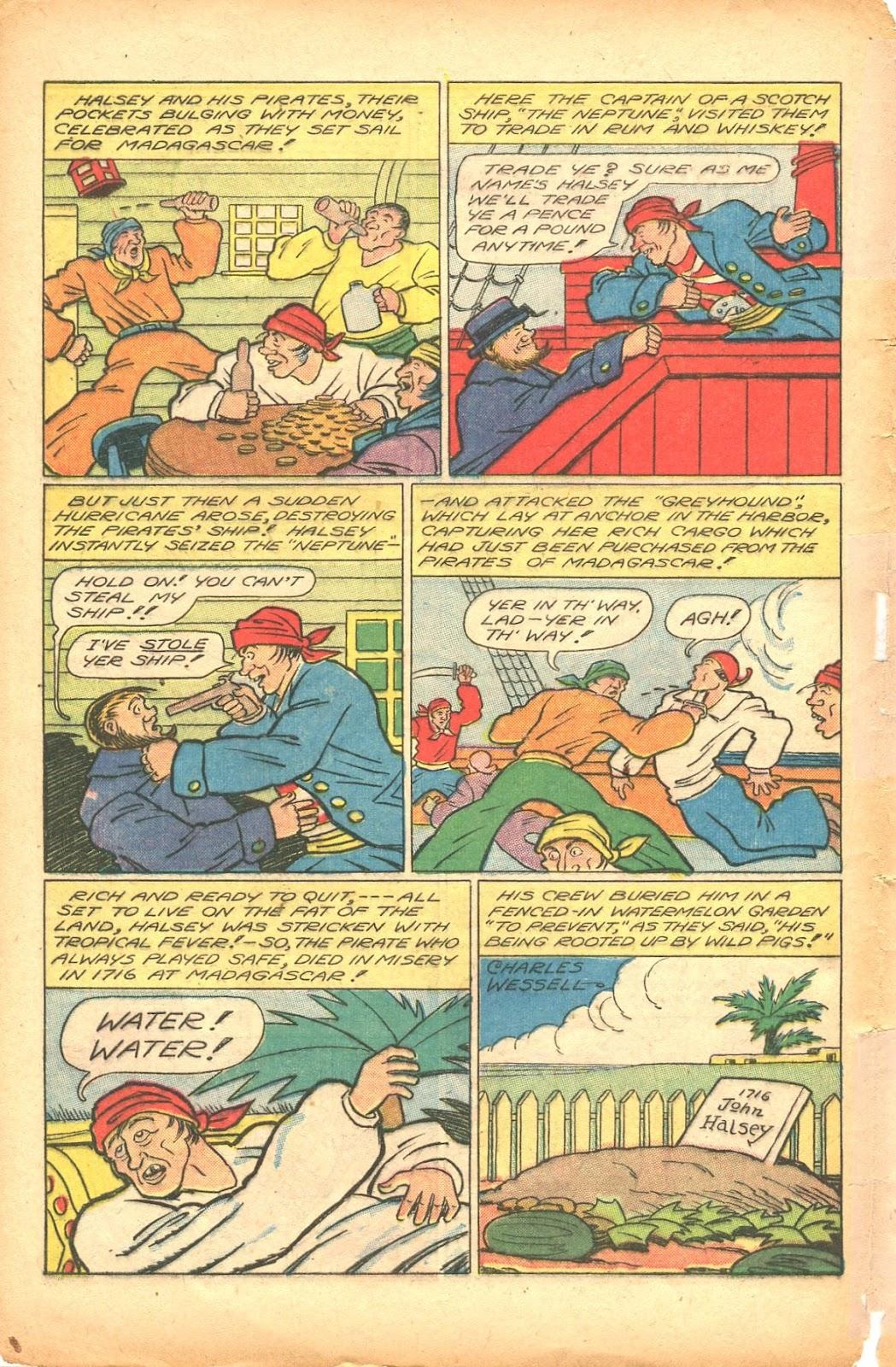 Read online Super-Magician Comics comic -  Issue #35 - 42