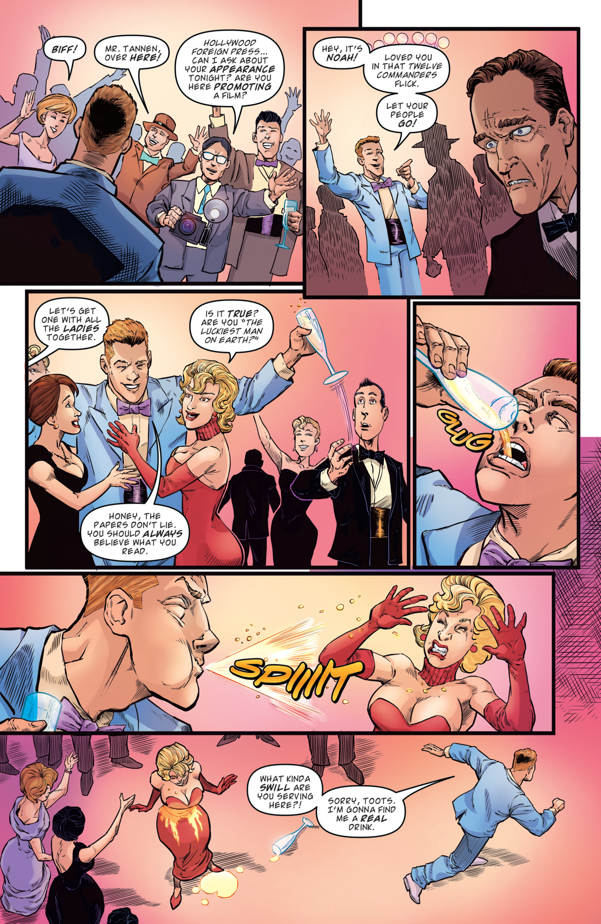Read online Back to the Future: Biff to the Future comic -  Issue #2 - 5