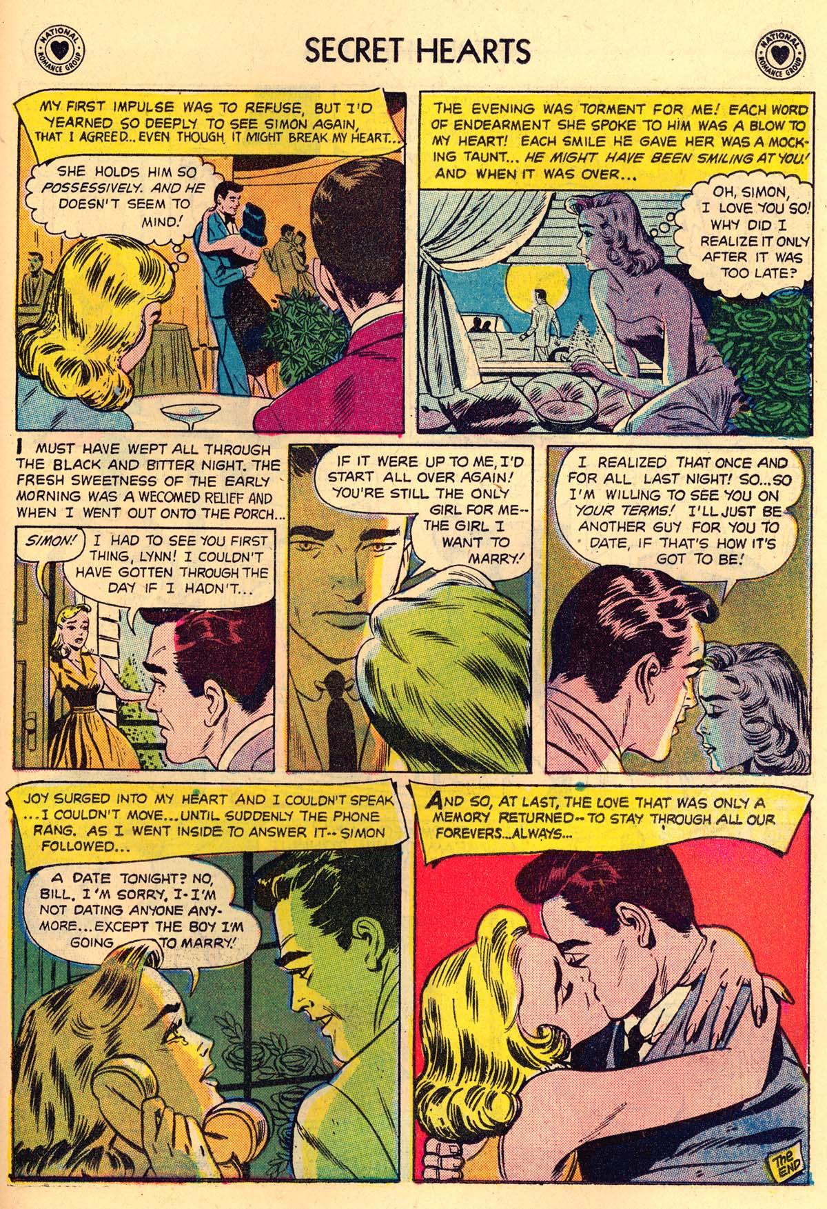 Read online Secret Hearts comic -  Issue #43 - 23