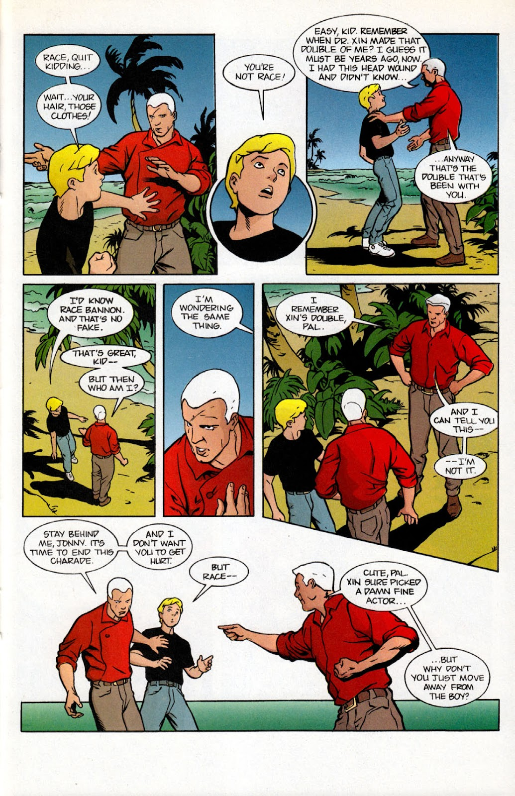Read online The Real Adventures of Jonny Quest comic -  Issue #7 - 23