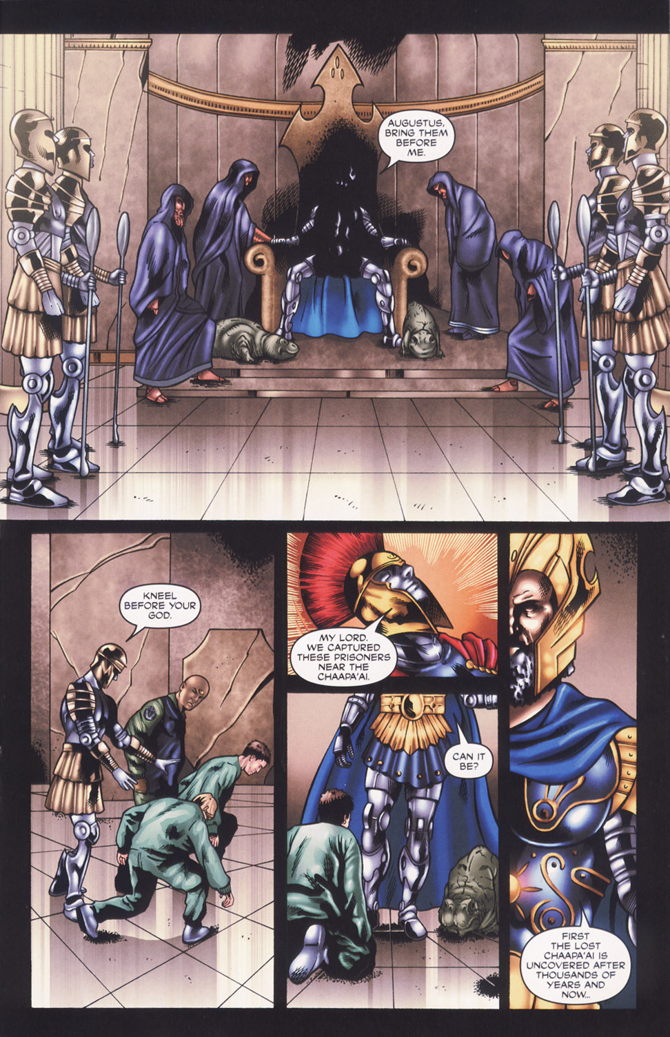Read online Stargate SG-1: Fall of Rome comic -  Issue #2 - 9