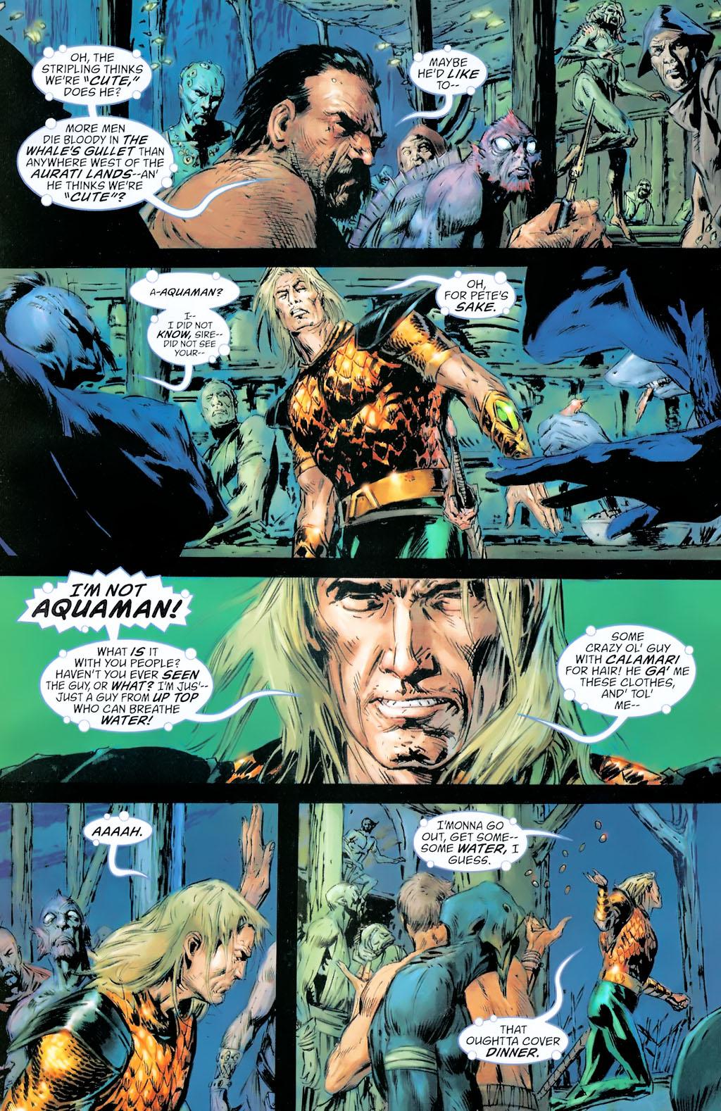 Read online Aquaman: Sword of Atlantis comic -  Issue #42 - 4