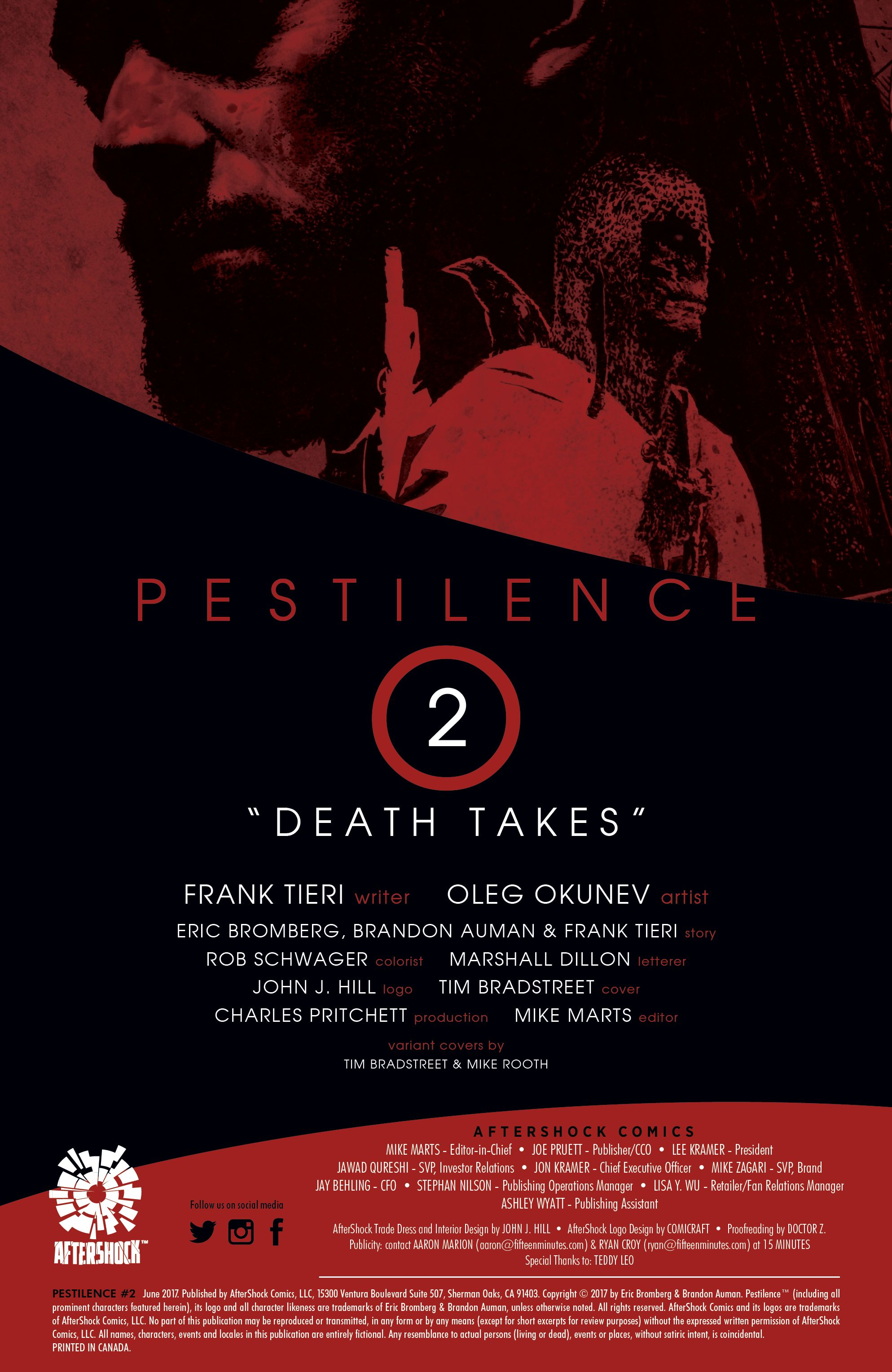 Read online Pestilence comic -  Issue #2 - 2