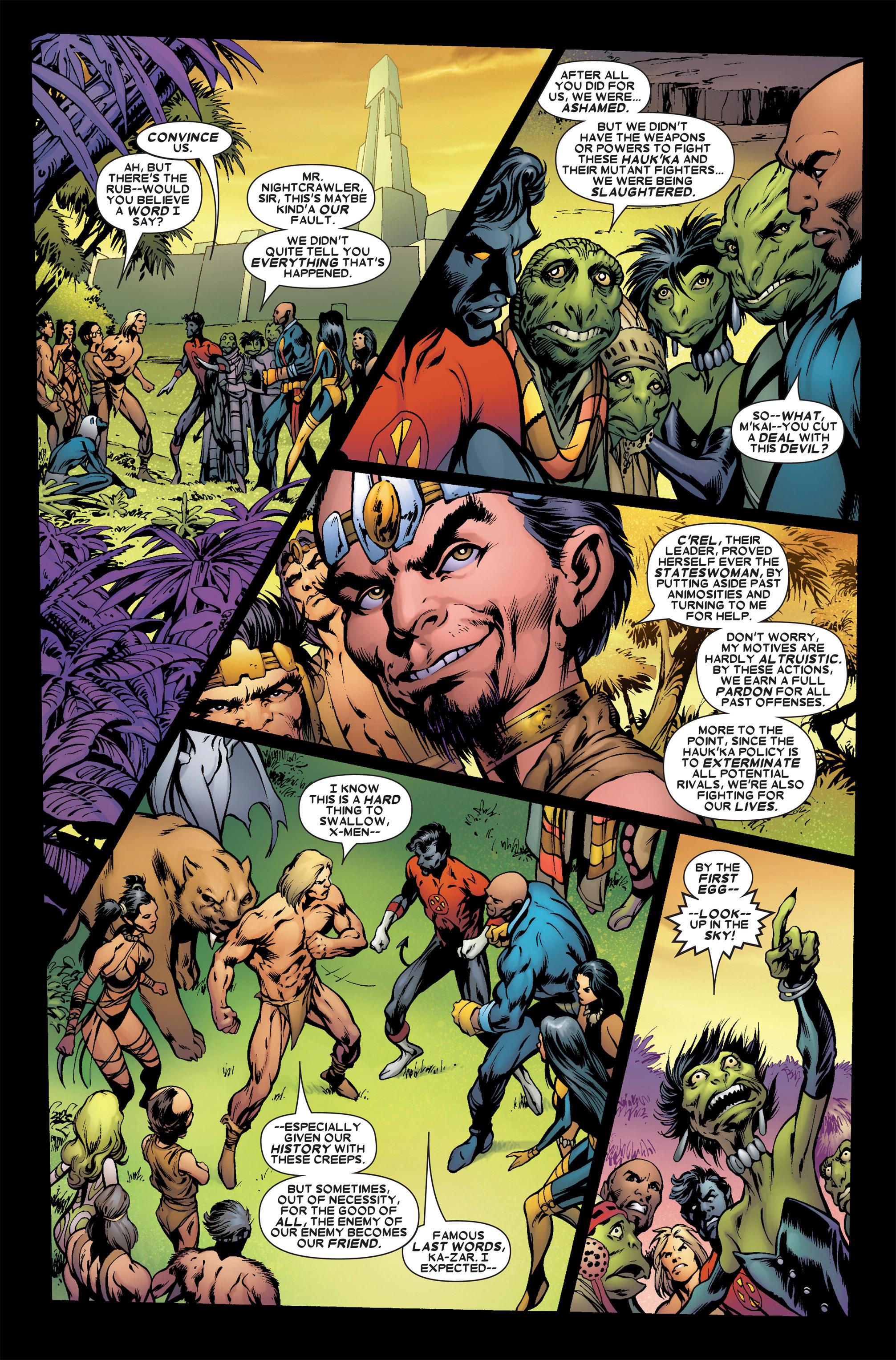 Read online Uncanny X-Men (1963) comic -  Issue #458 - 4