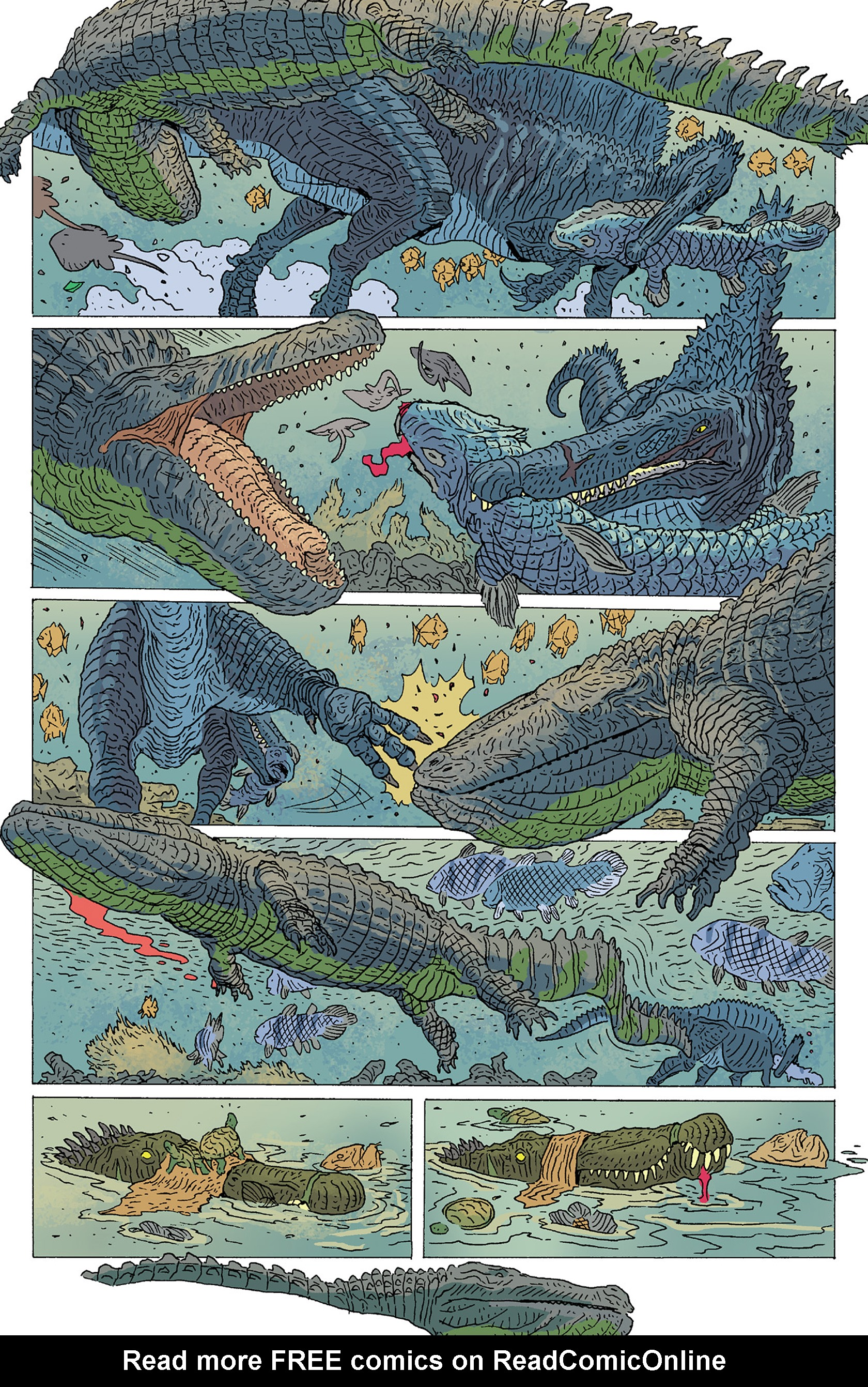 Read online Age of Reptiles: Ancient Egyptians comic -  Issue #1 - 23