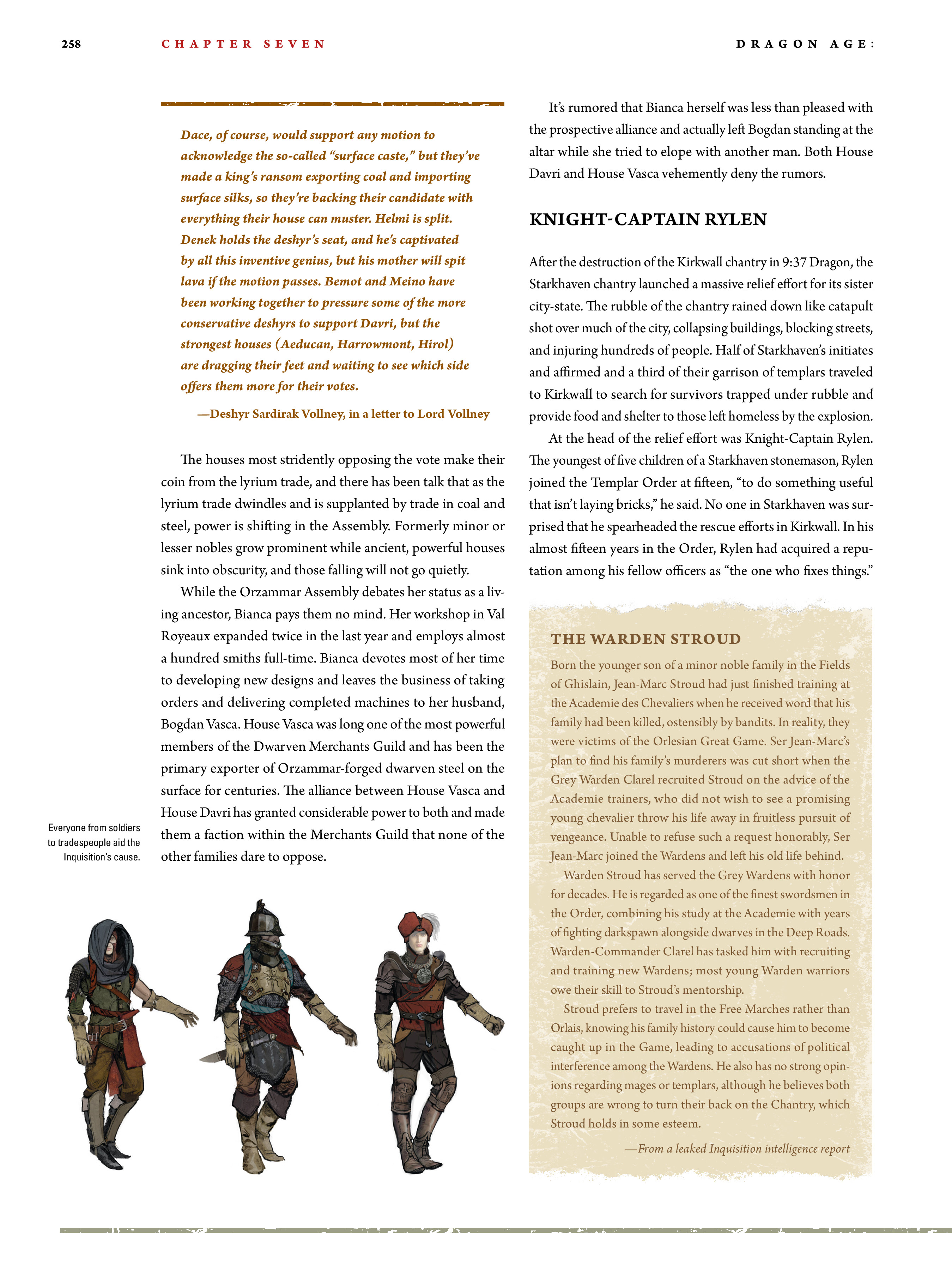 Read online Dragon Age: The World of Thedas comic -  Issue # TPB 2 - 251