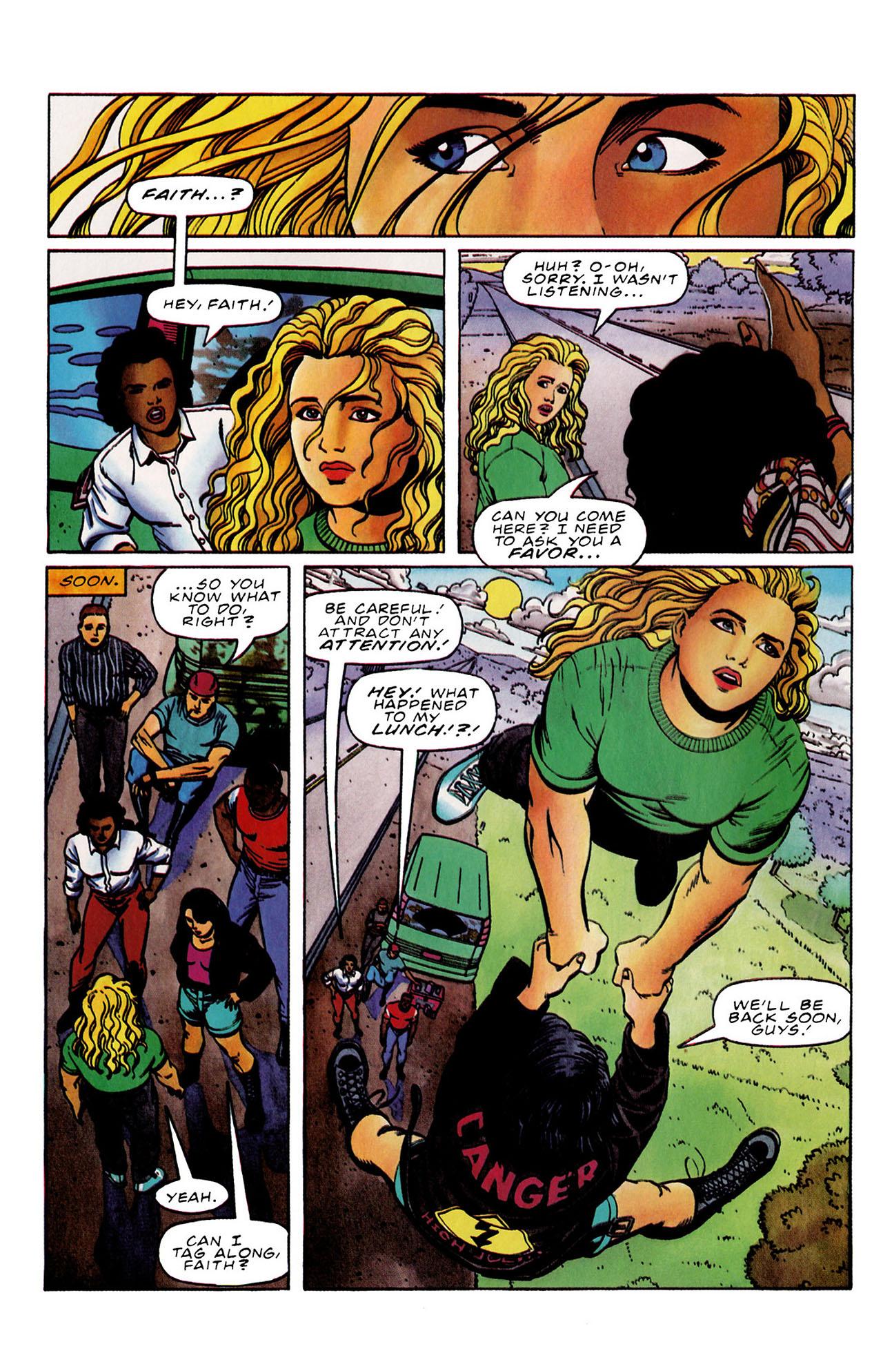 Read online Harbinger (1992) comic -  Issue #33 - 5
