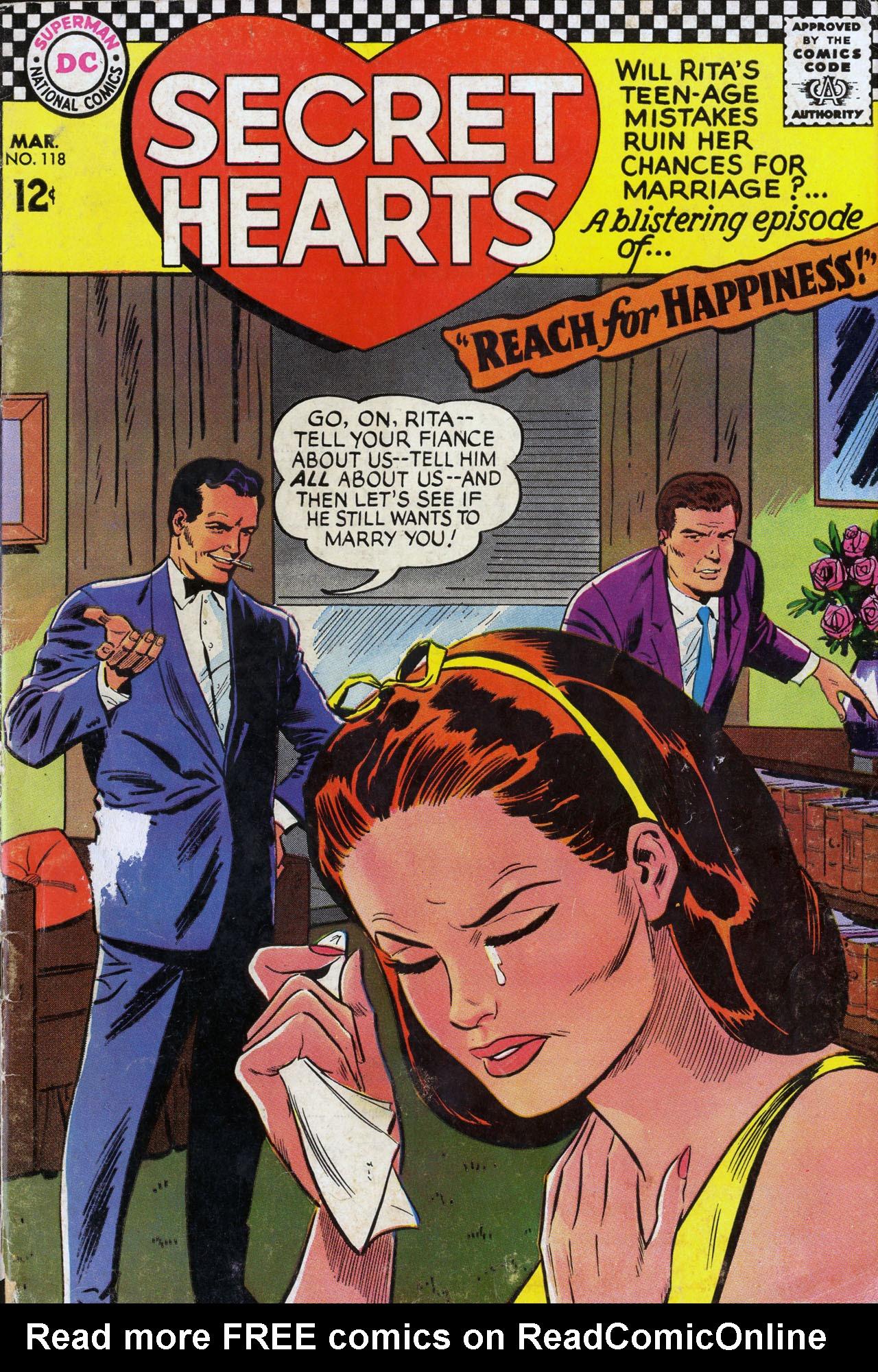 Read online Secret Hearts comic -  Issue #118 - 1