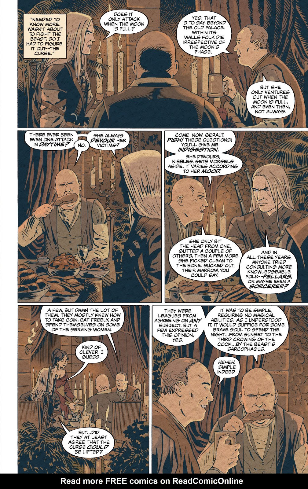 Read online The Witcher Omnibus comic -  Issue # TPB (Part 4) - 30