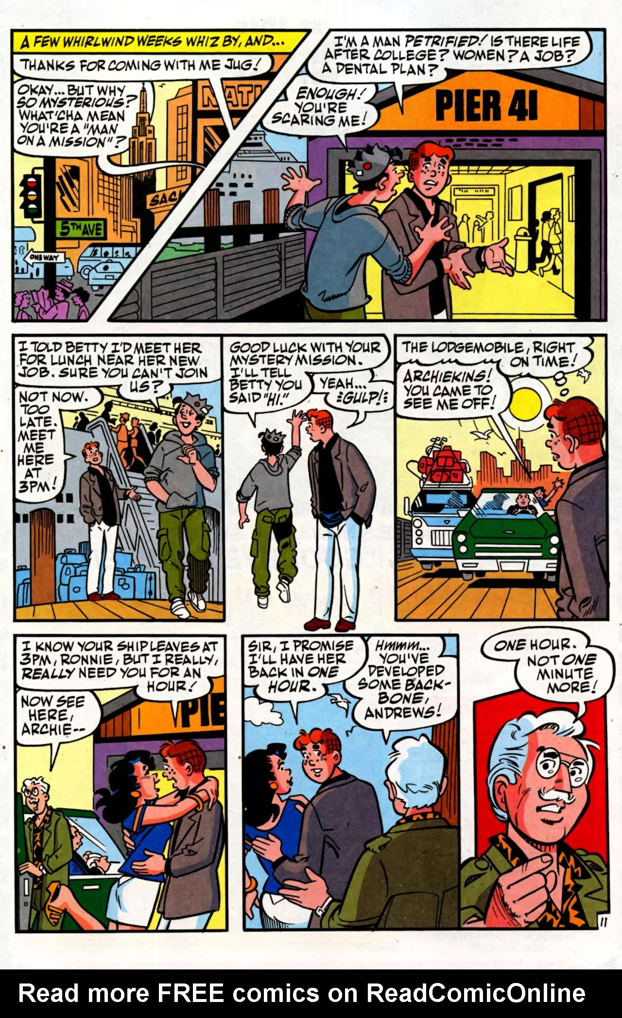 Read online Archie (1960) comic -  Issue #600 - 16