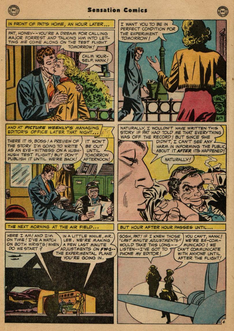 Read online Sensation (Mystery) Comics comic -  Issue #100 - 20