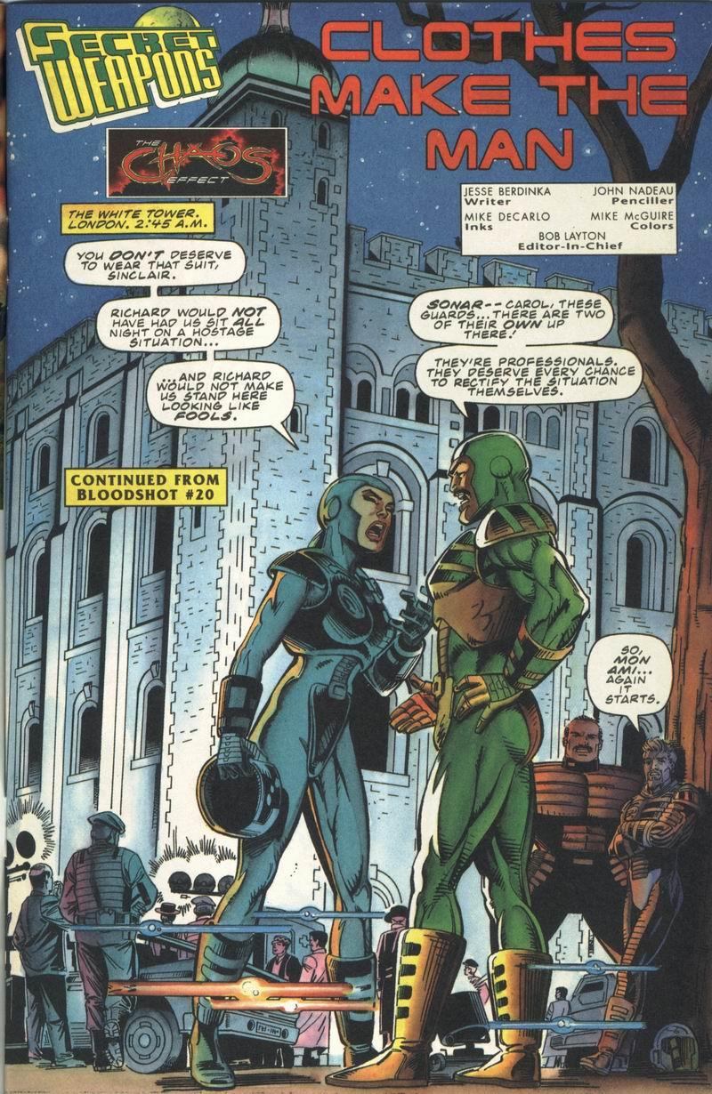 Read online Secret Weapons comic -  Issue #13 - 2