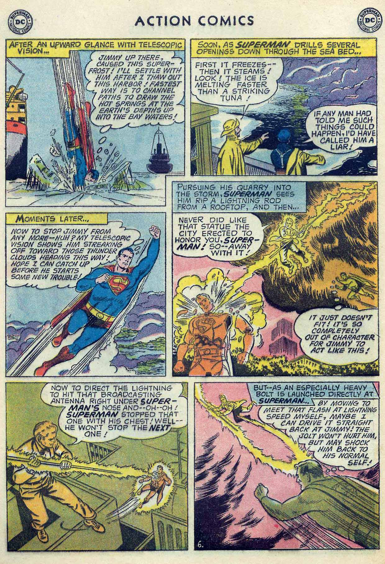 Read online Action Comics (1938) comic -  Issue #253 - 8