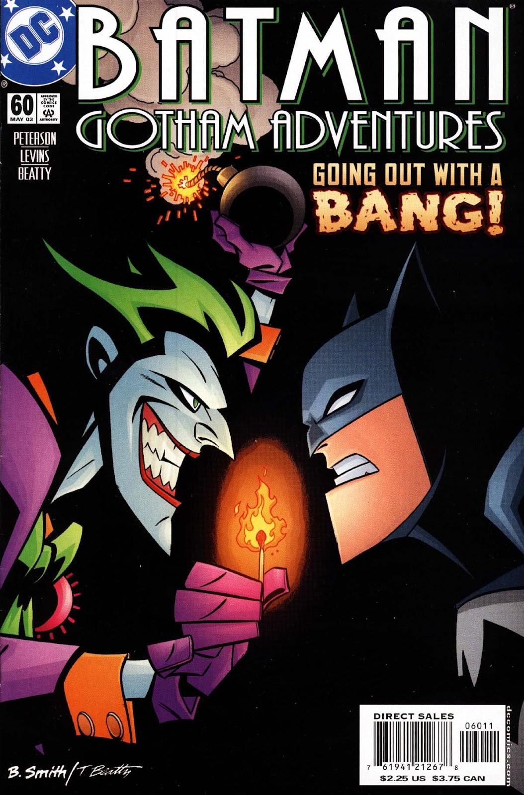 Batman: Gotham Adventures issue 60 - Page 1