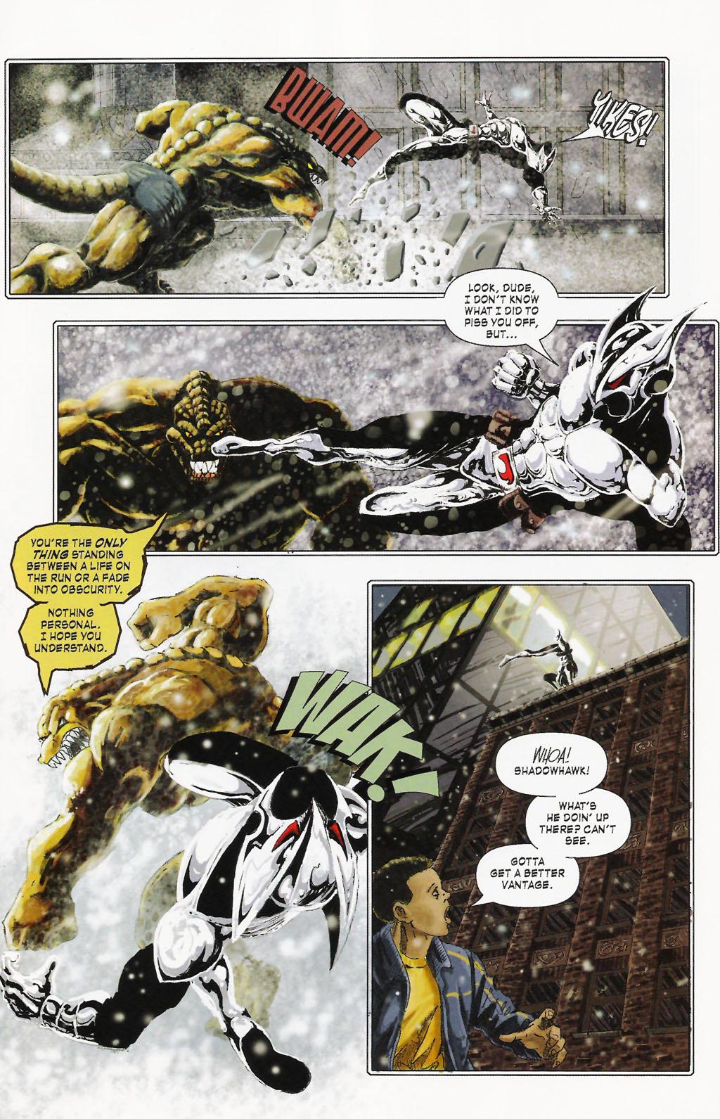 Read online ShadowHawk (2005) comic -  Issue #9 - 15
