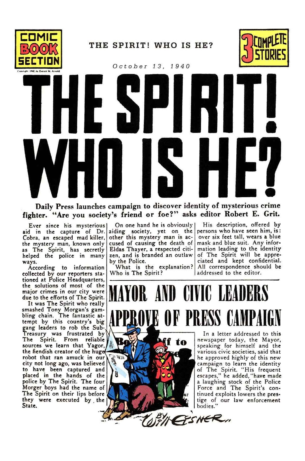 Read online Will Eisner's The Spirit Archives comic -  Issue # TPB 1 (Part 2) - 35