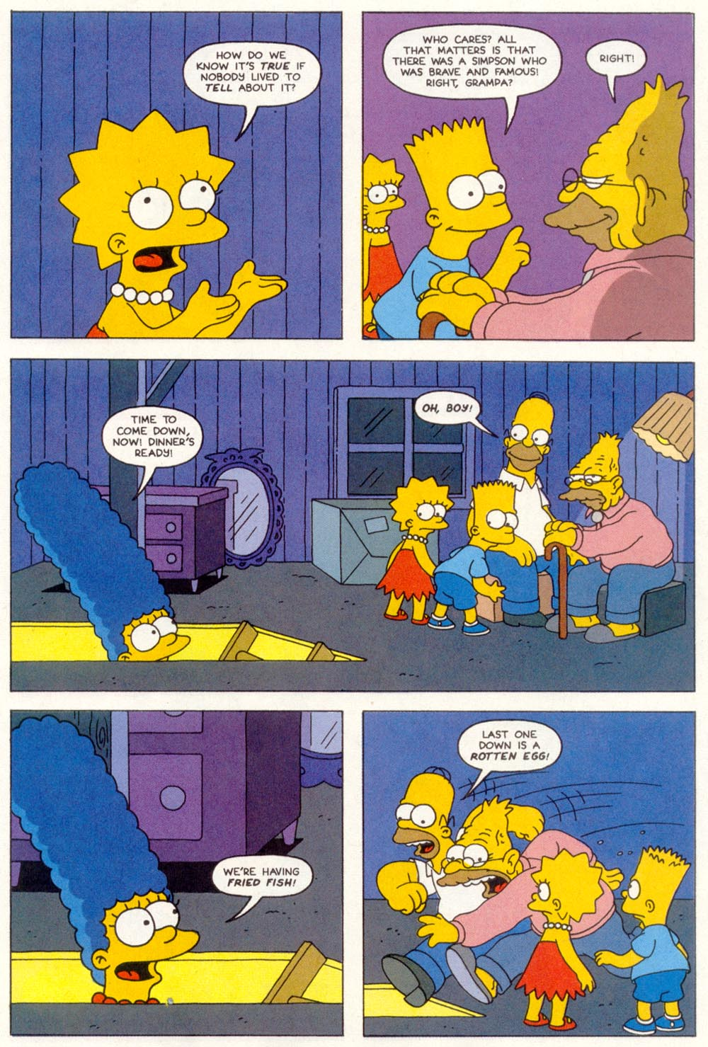 Read online Treehouse of Horror comic -  Issue #1 - 29