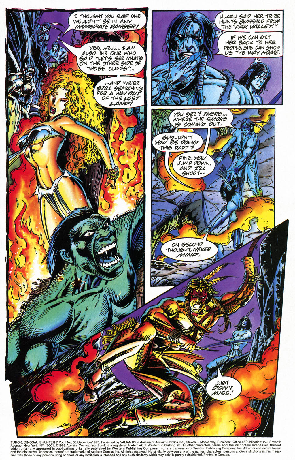 Read online Turok, Dinosaur Hunter (1993) comic -  Issue #35 - 2