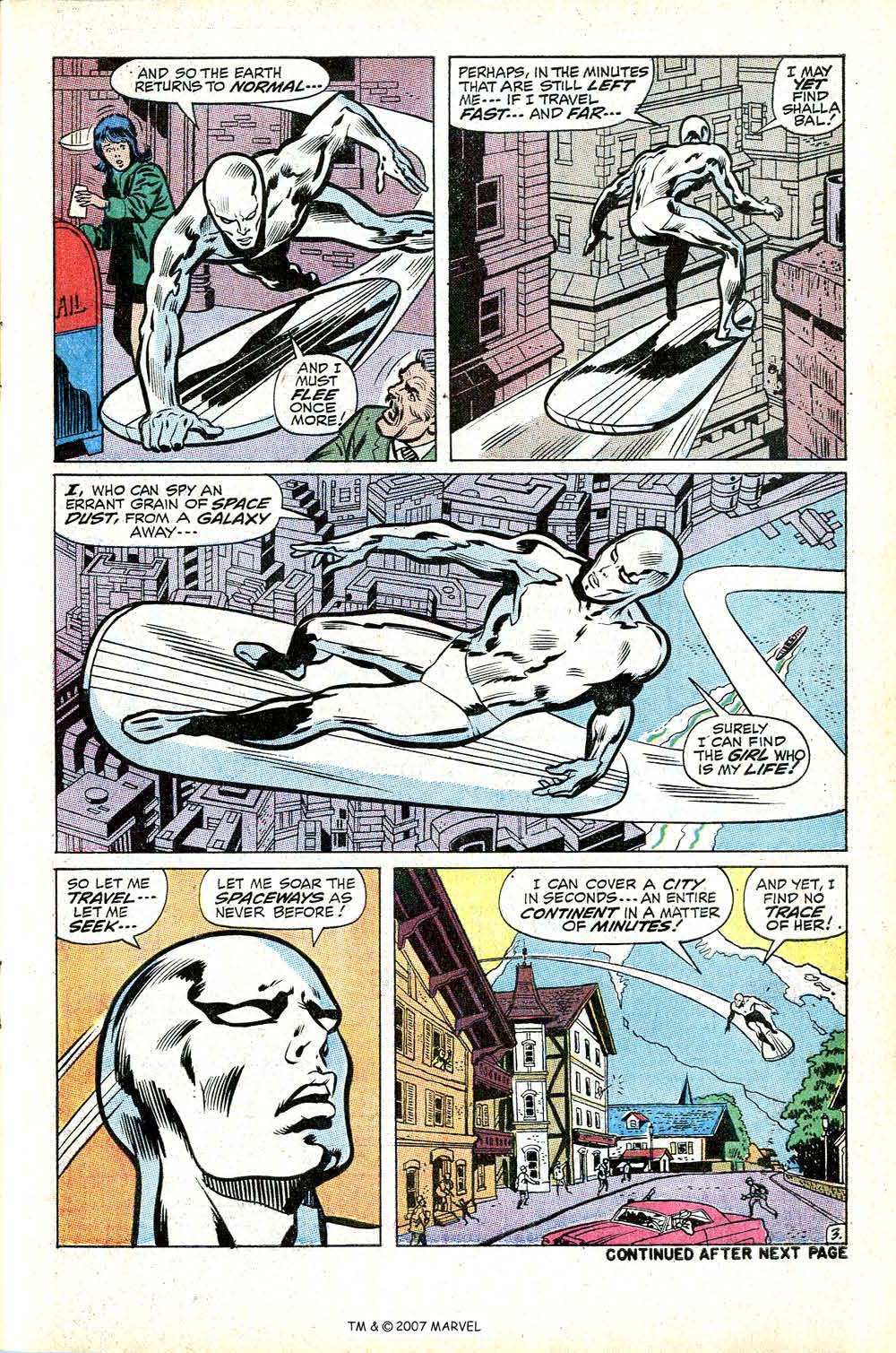 Read online Silver Surfer (1968) comic -  Issue #17 - 5