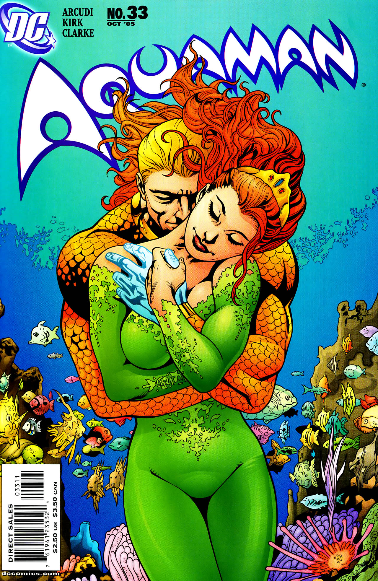 Read online Aquaman (2003) comic -  Issue #33 - 1