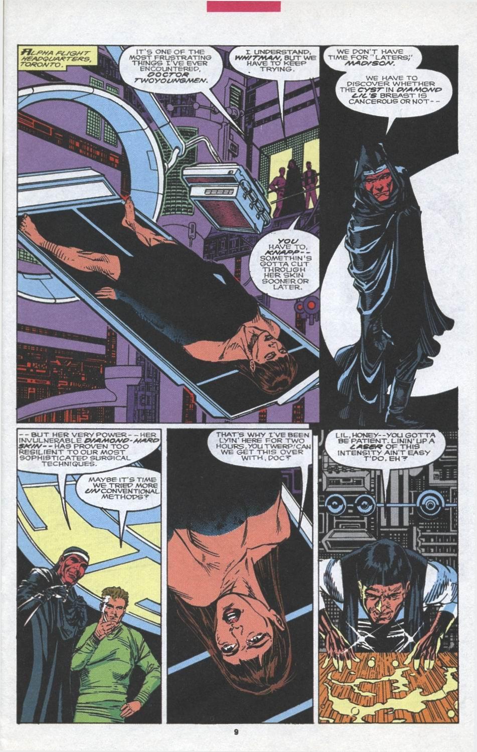 Read online Alpha Flight (1983) comic -  Issue #97 - 8