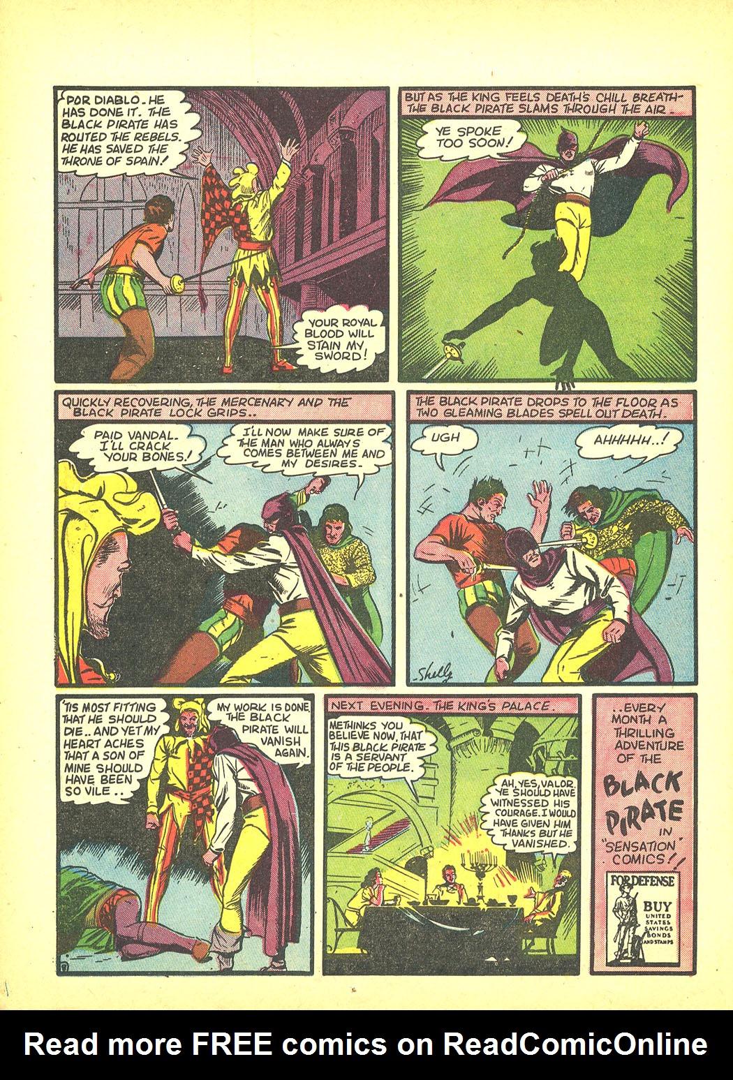 Read online Sensation (Mystery) Comics comic -  Issue #4 - 24