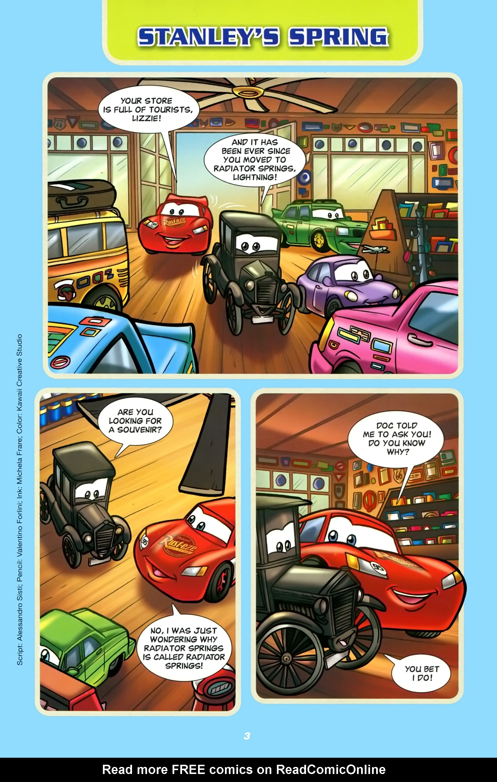 Free Disney Cartoon Porn Comics disney pixar cars full | viewcomic reading comics online for